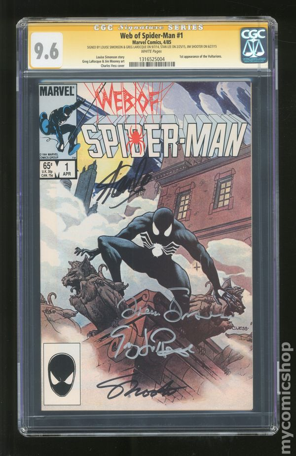 Details about  /Web Of Spider-Man #14 CGC Graded 8.5 Marvel May 1986 Comic Book