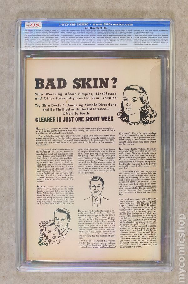 Crime Must Pay The Penalty (1948) comic books graded by CGC