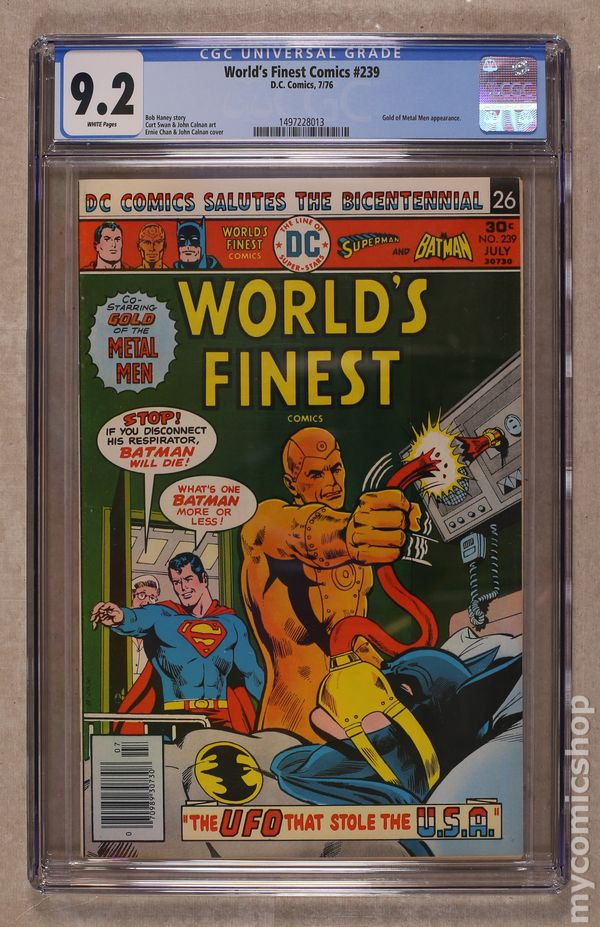 Comic Books Graded By CGC