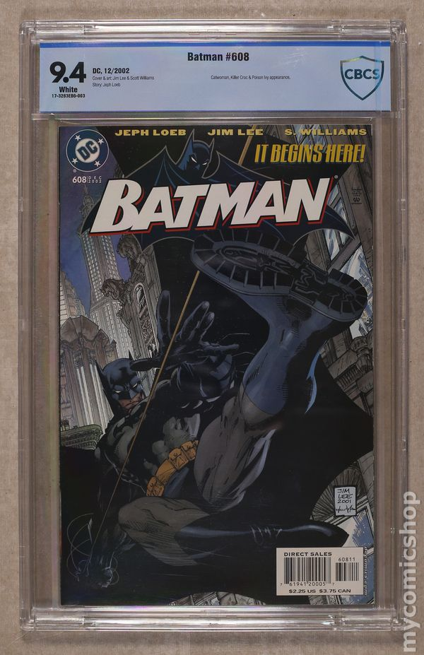 Comic Books In Batman Hush Graded By Cbcs