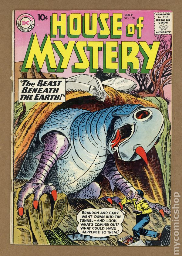 House Of Mystery (1951-1983 1st Series) 100 GD/VG 3.0