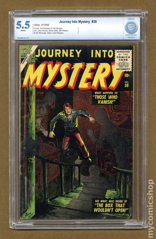 Journey into Mystery (1952) 38 CBCS 5 5