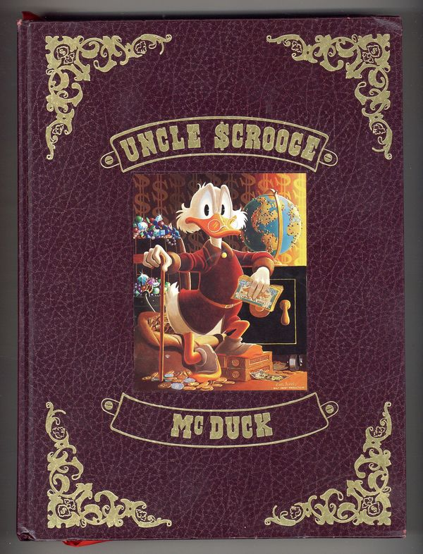 Disney Uncle Scrooge 1954 Printing Plate /& Page  printed to 12 x 15 metal plate