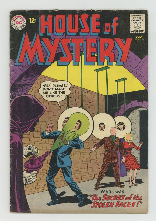 House Of Mystery (1951-1983 1st Series) 136 VG 4.0