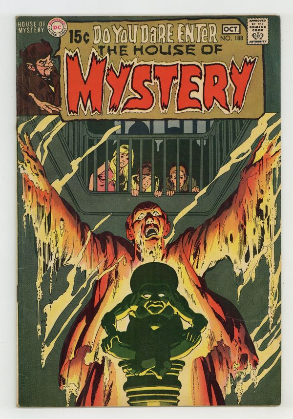 House Of Mystery (1951-1983 1st Series) 188 VG+ 4.5