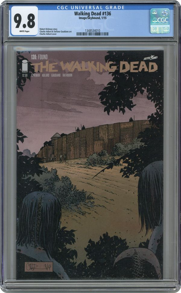 ROBERT KIRKMAN!! Image Comics WALKING DEAD #136