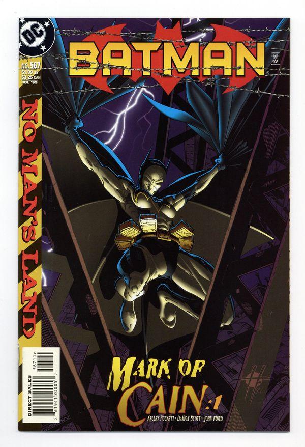 Item #51851851 Front Cover: Batman #567 VF+ 8.5