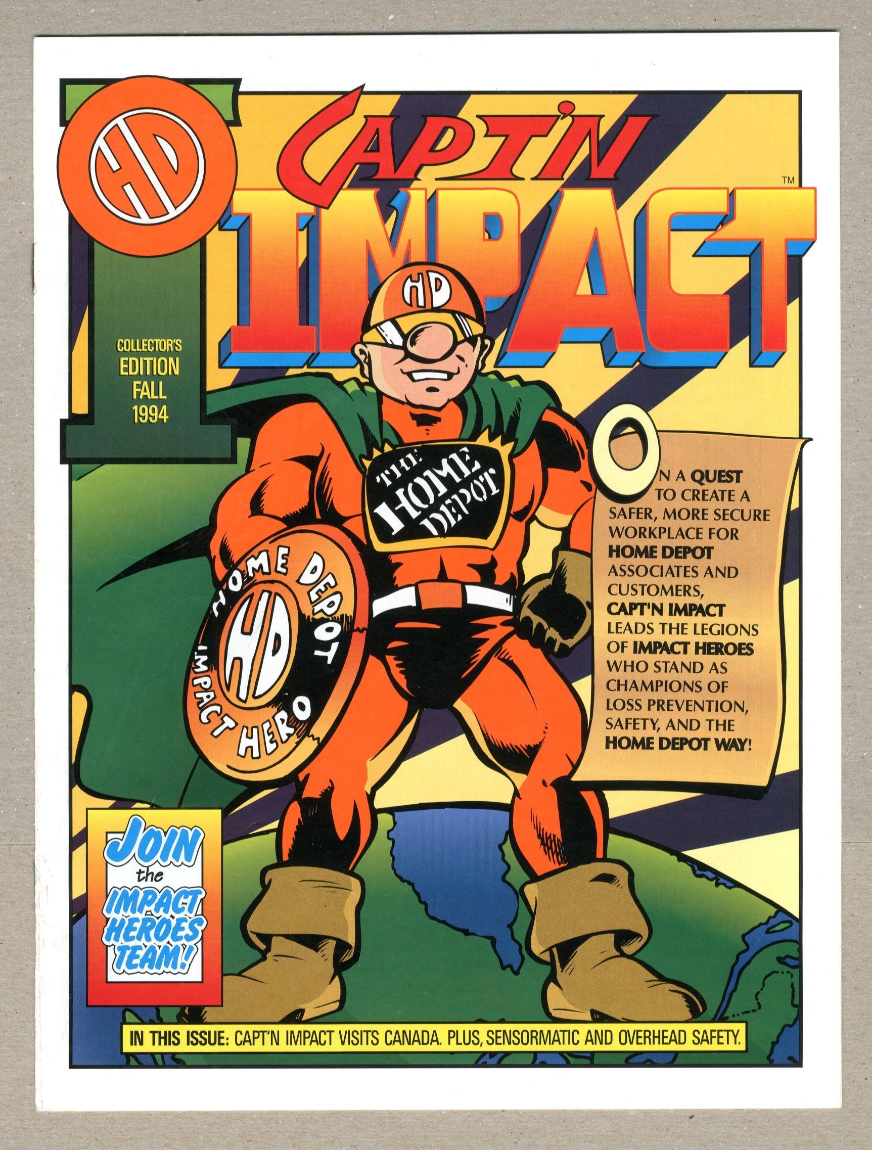 Capt'n Impact (1994) 199409 VG/FN 5 0