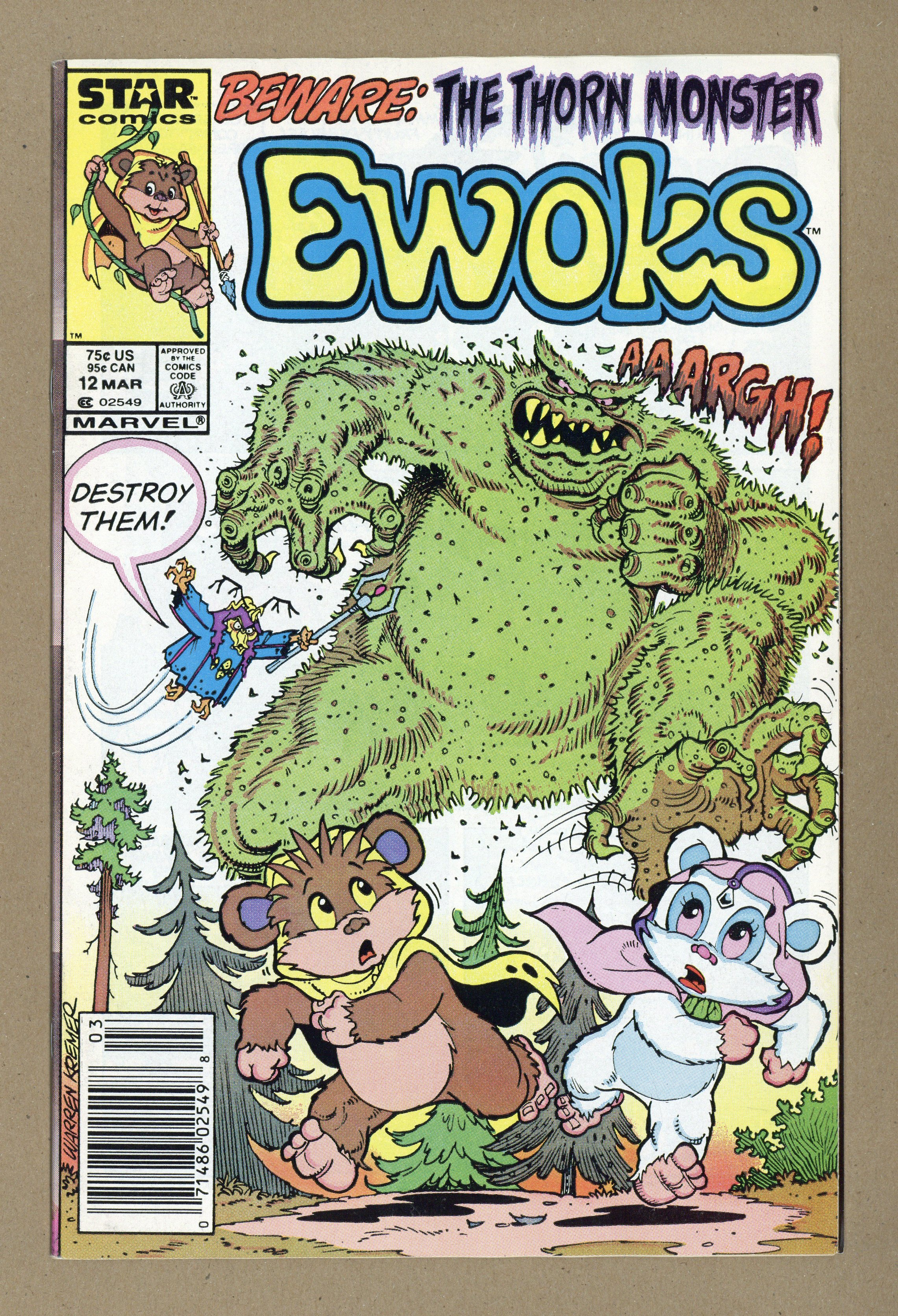 Details about Ewoks (Marvel/Star Comics) #12 1987 FN 6 0