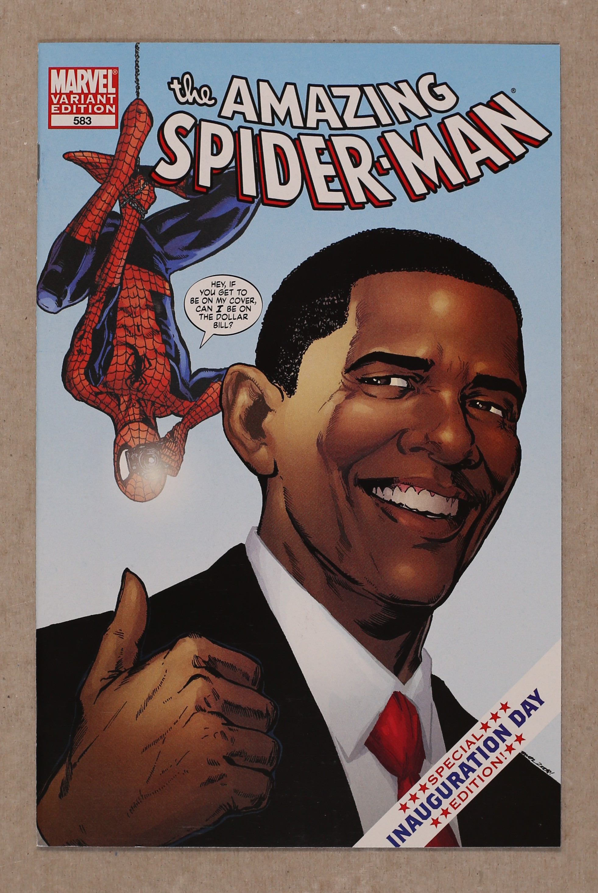 Auctions comic books in other obama comics actual item pictured not a generic image sciox Image collections