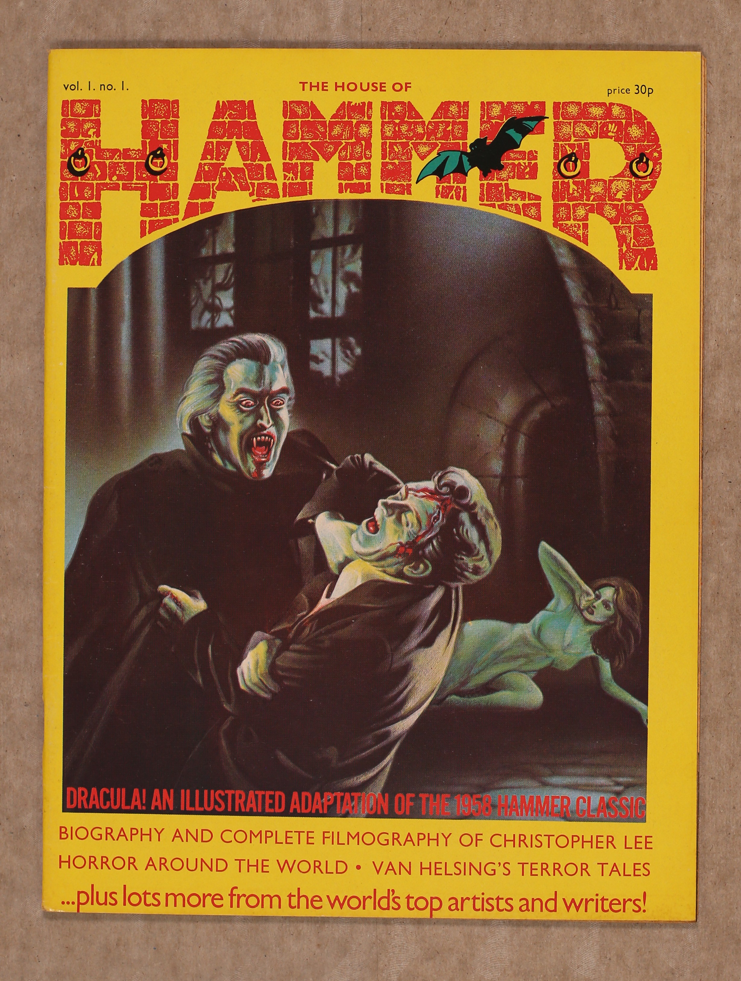 The House Of Hammer browsing alphabetically