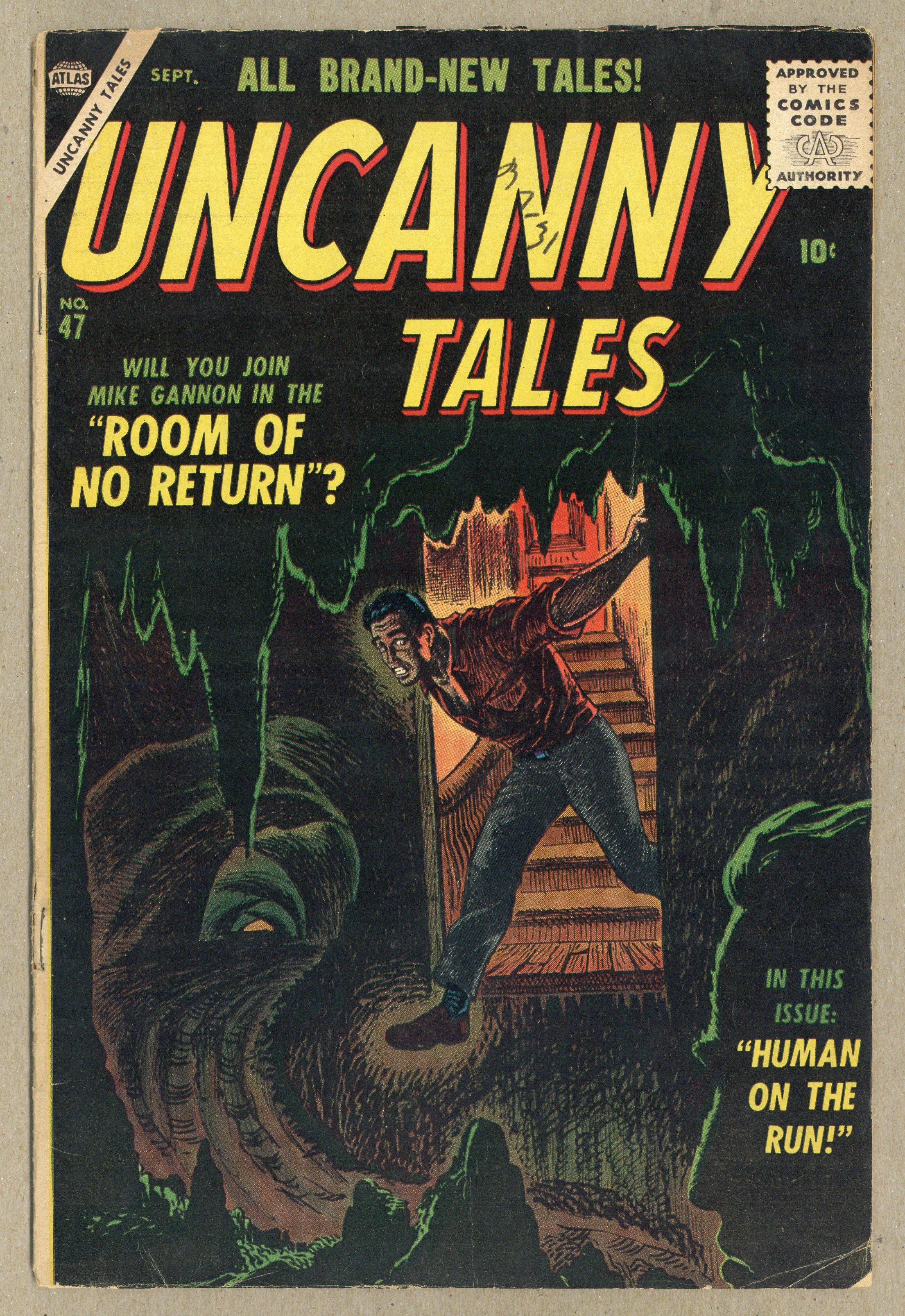 Uncanny Cuentos (Atlas) #47 1956 Buen Estado/muy buenas 3 0