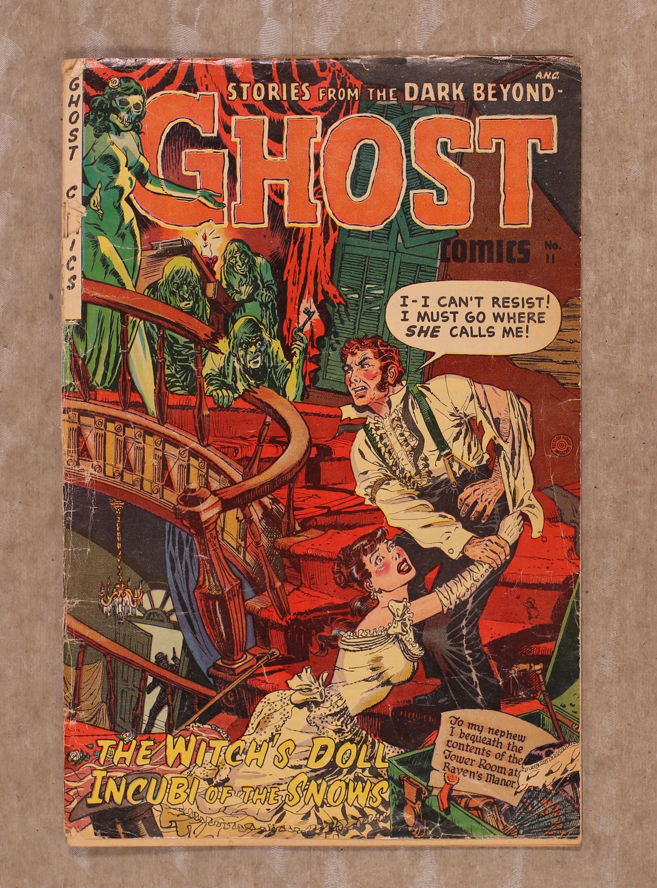 Details about Ghost Comics (Fiction House) #11 1954 GD- 1 8