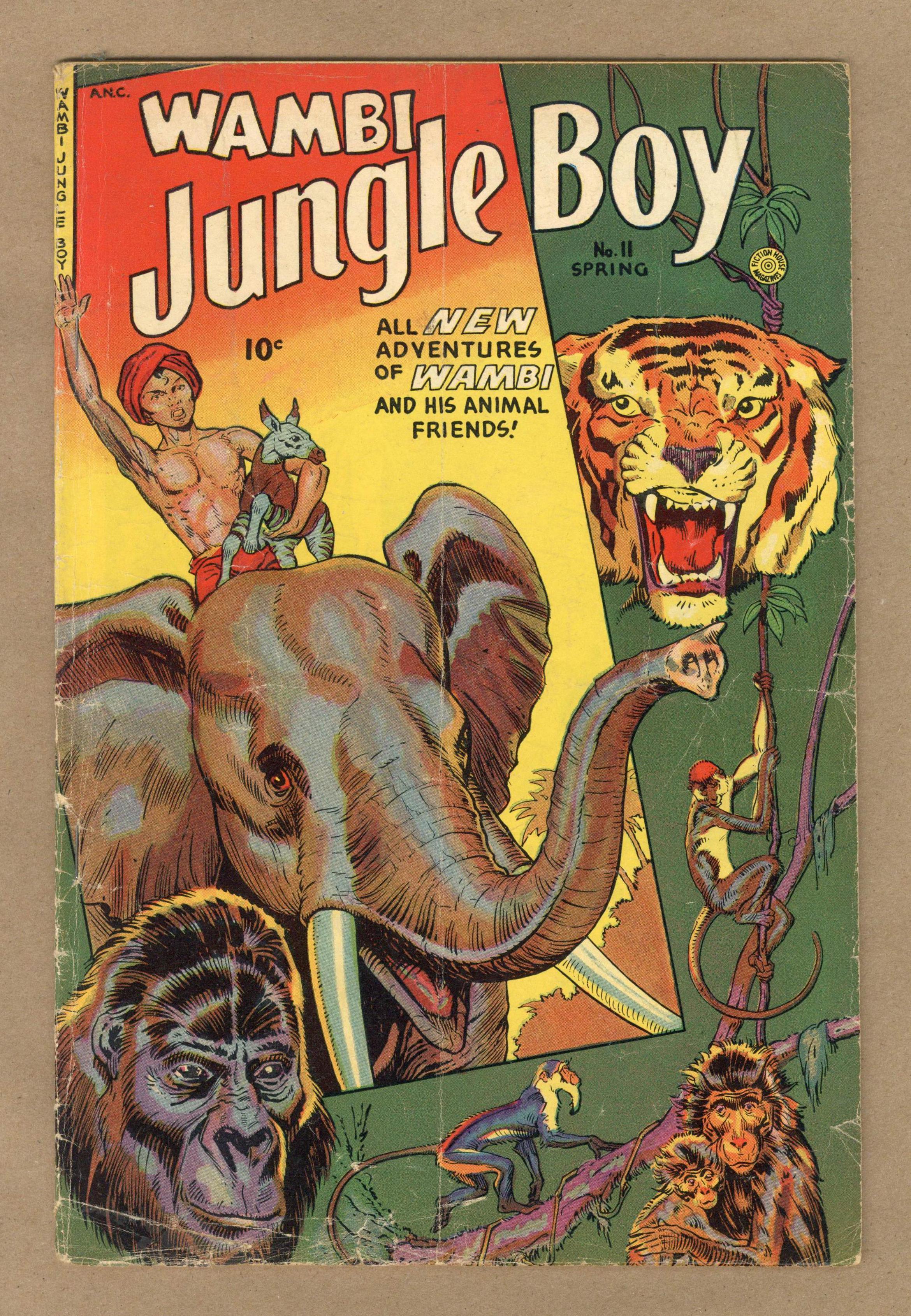 Wambi Jungle Boy 11 Gd 2 0 1951 Ebay