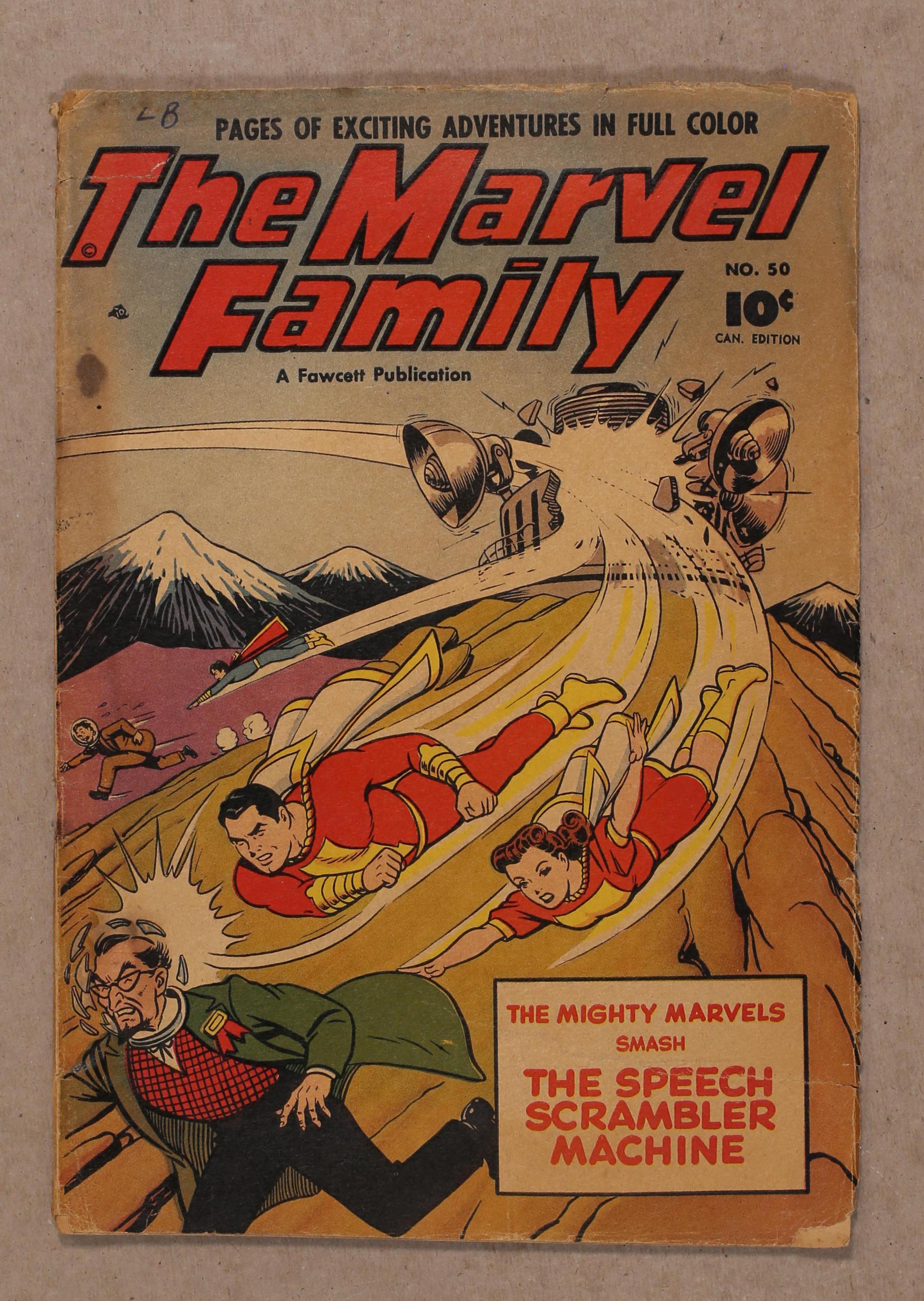 The Marvel Family #50