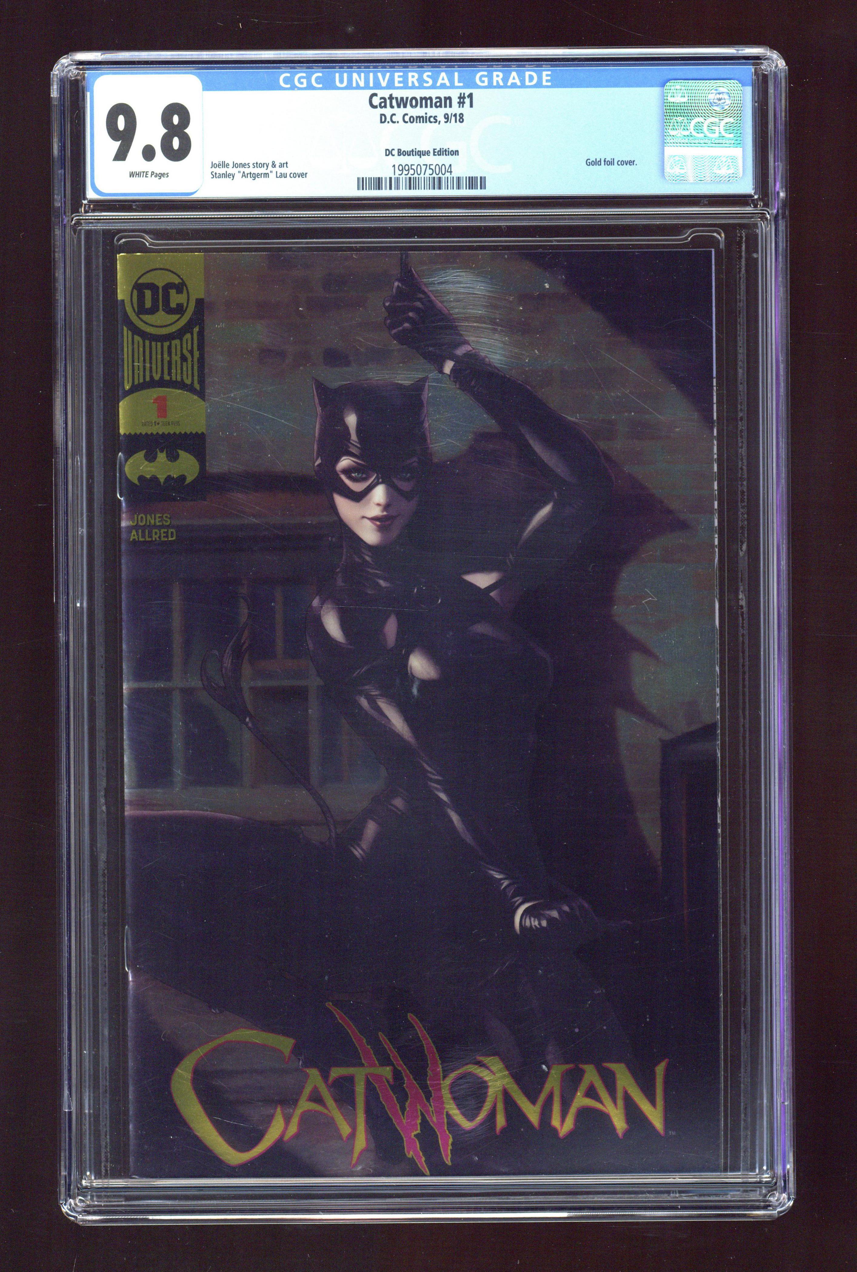 Comic books in 'Batman', graded by CGC
