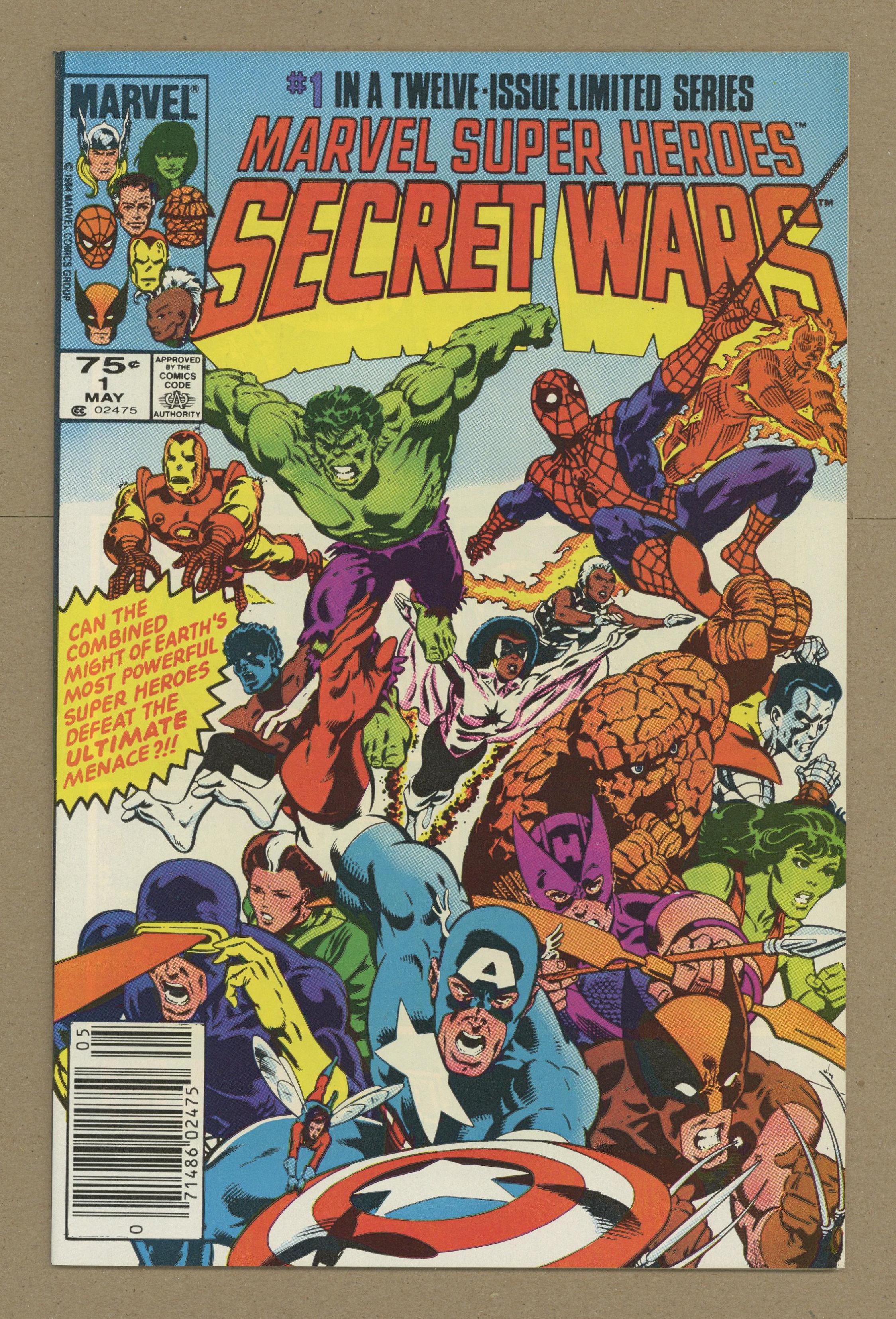 Details about Marvel Super Heroes Secret Wars #1 1984 VF+ 8 5