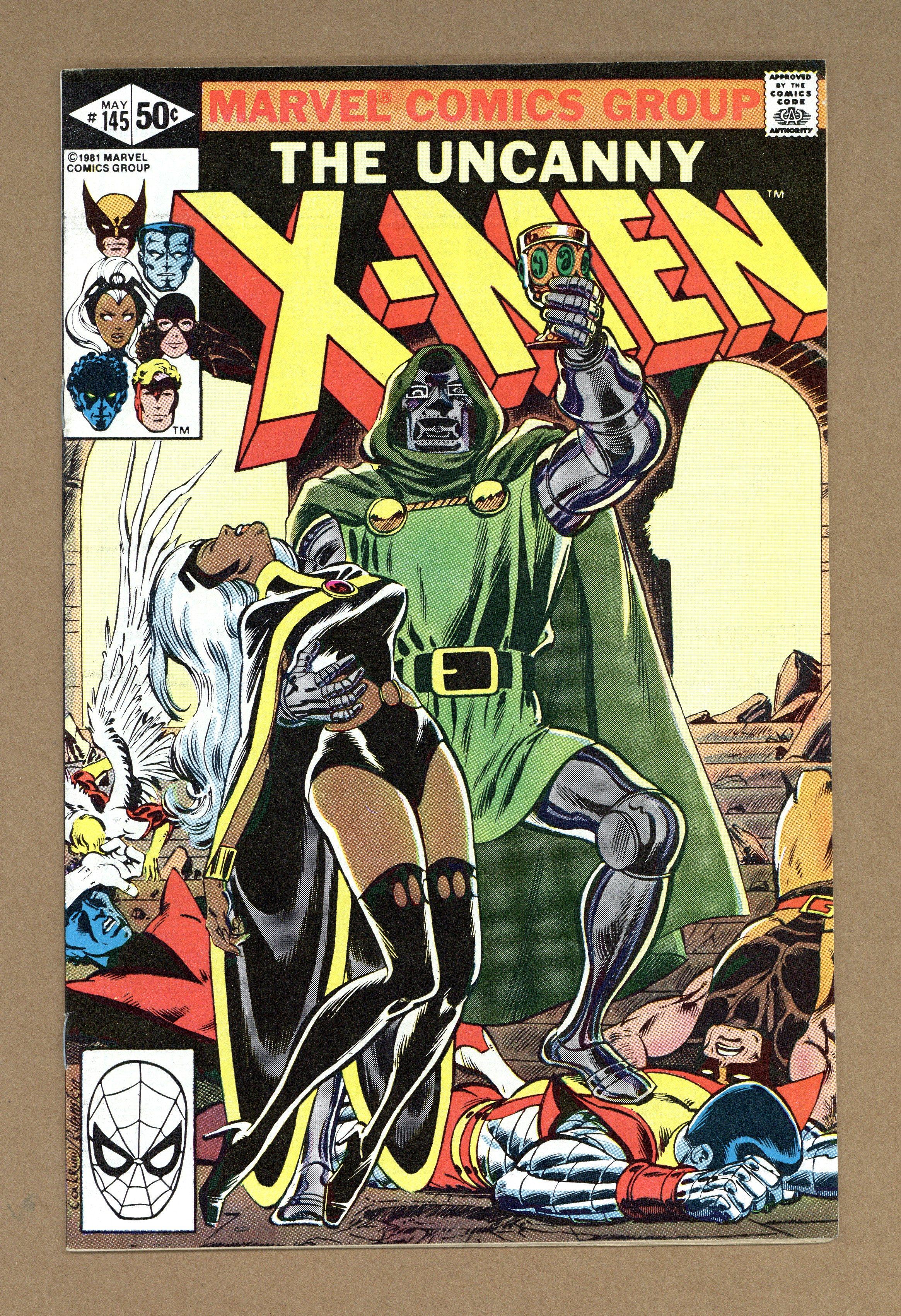 Marvel Comics 1981 Stock Image Direct X-MEN #151 VG Dave Cockrum Uncanny