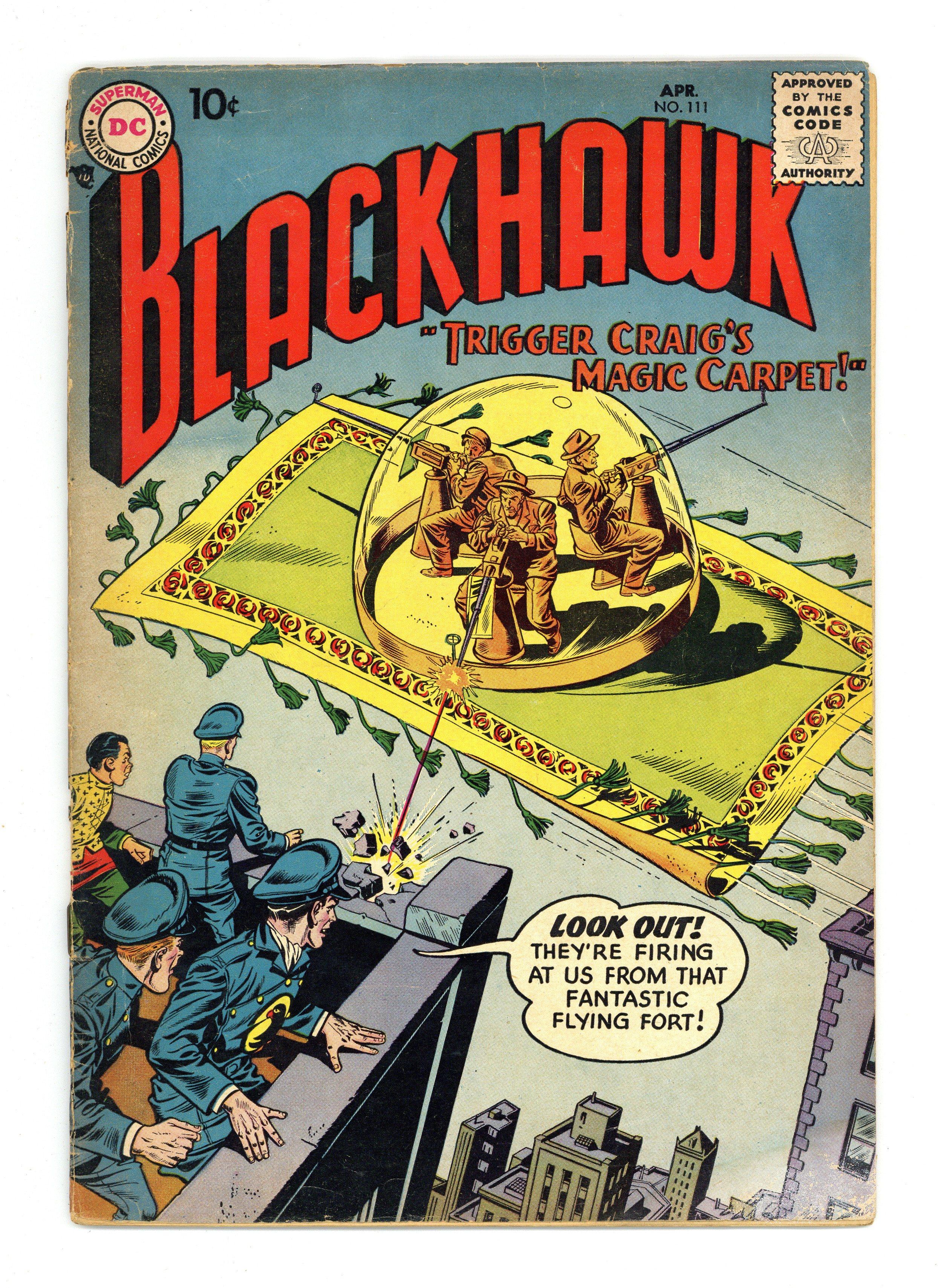 Blackhawk (1944 1st Series) 111 GD 2 0