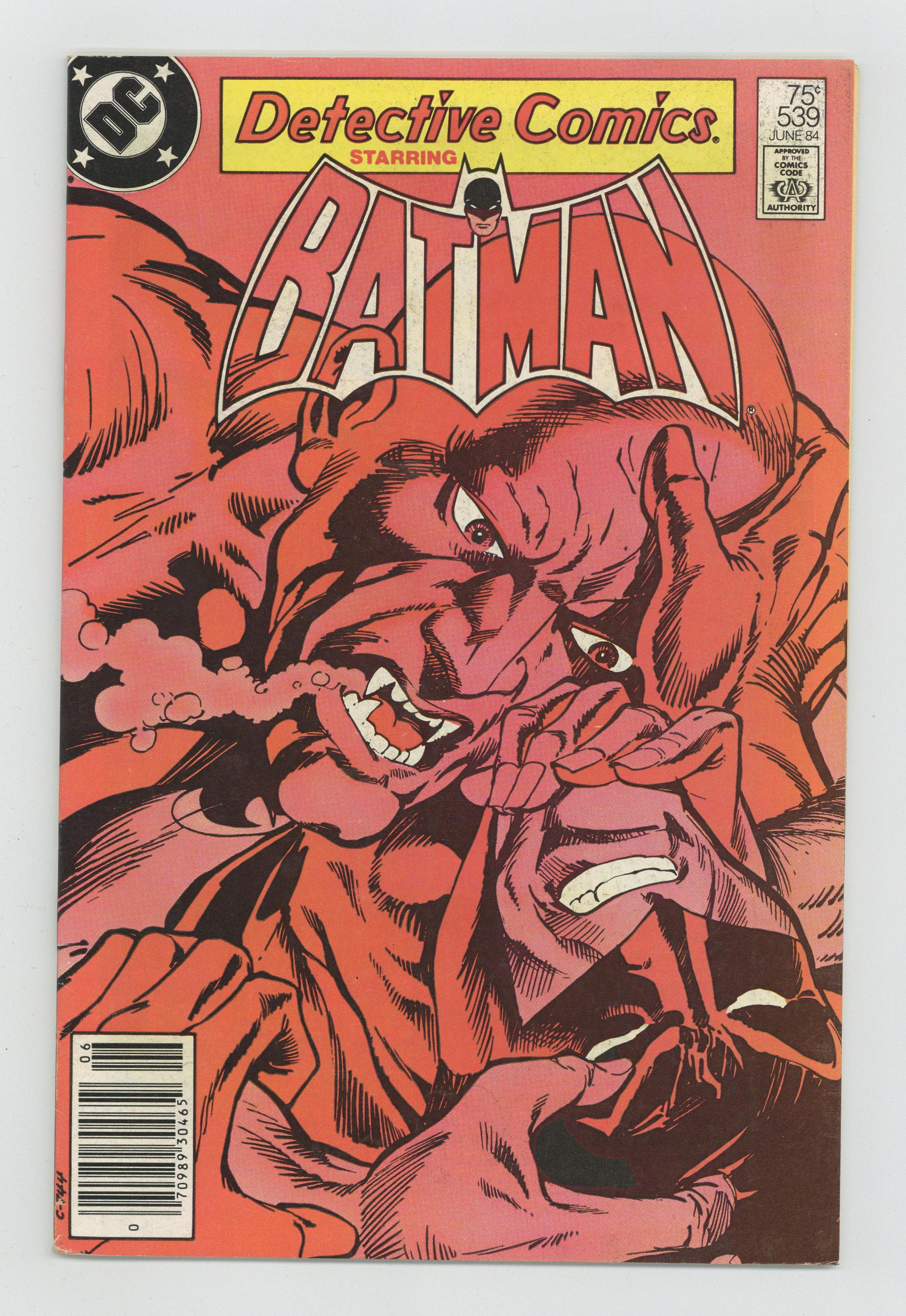 Detective Comics #543 FN 1984 Stock Image