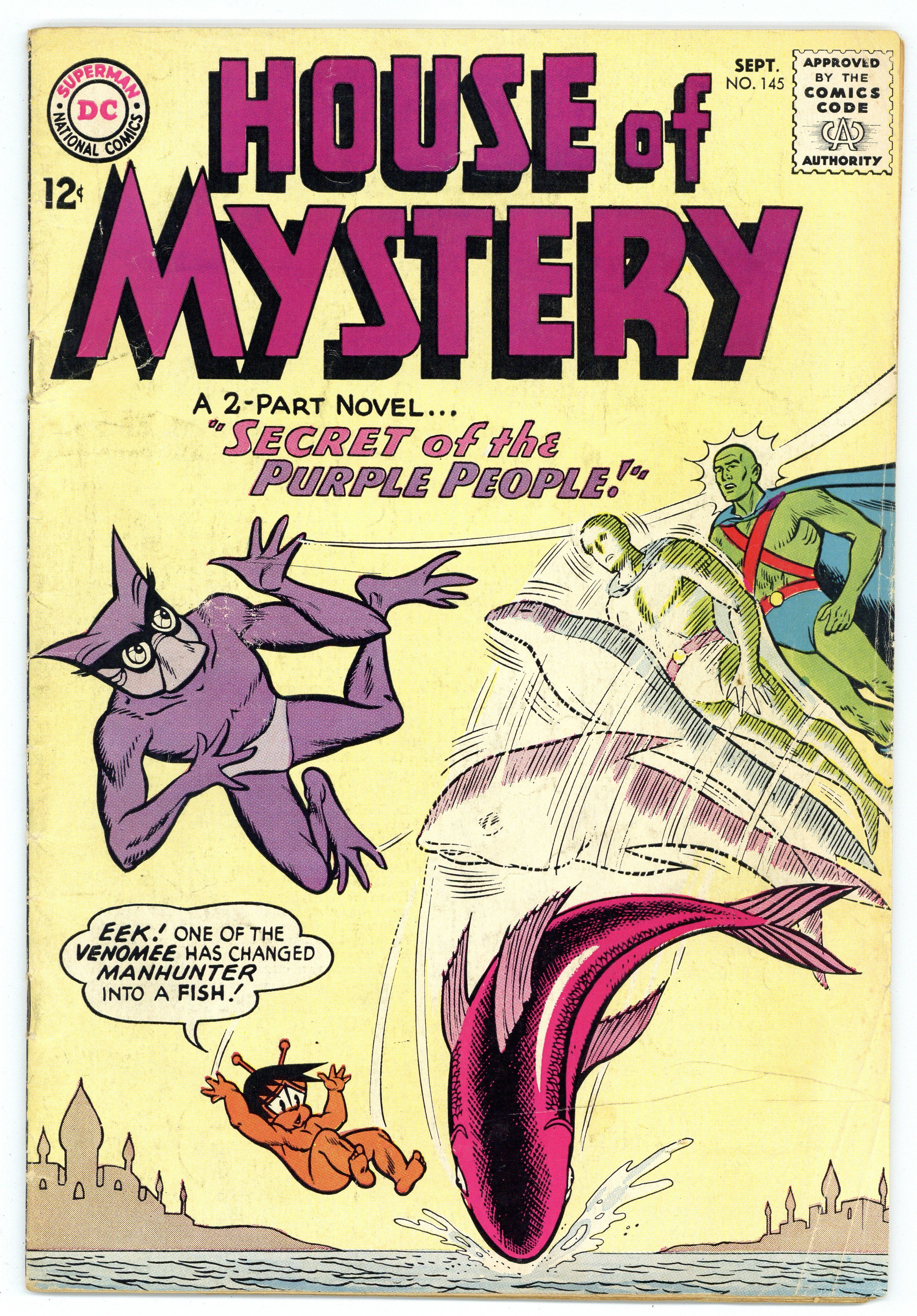 House Of Mystery (1951-1983 1st Series) 145 VG 4.0
