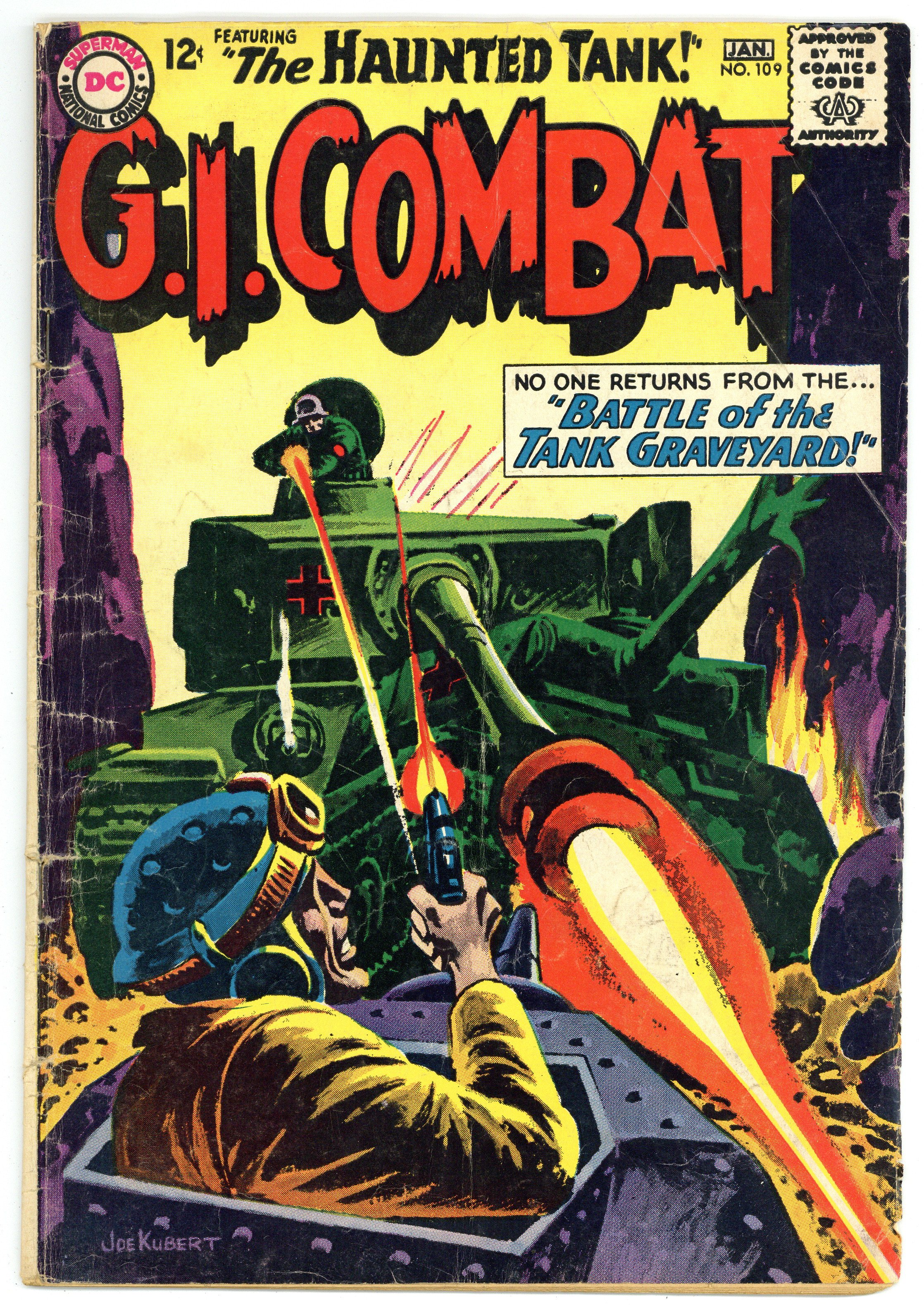 Star Spangled War Stories #122 GD//VG 3.0 1965 Stock Image Low Grade