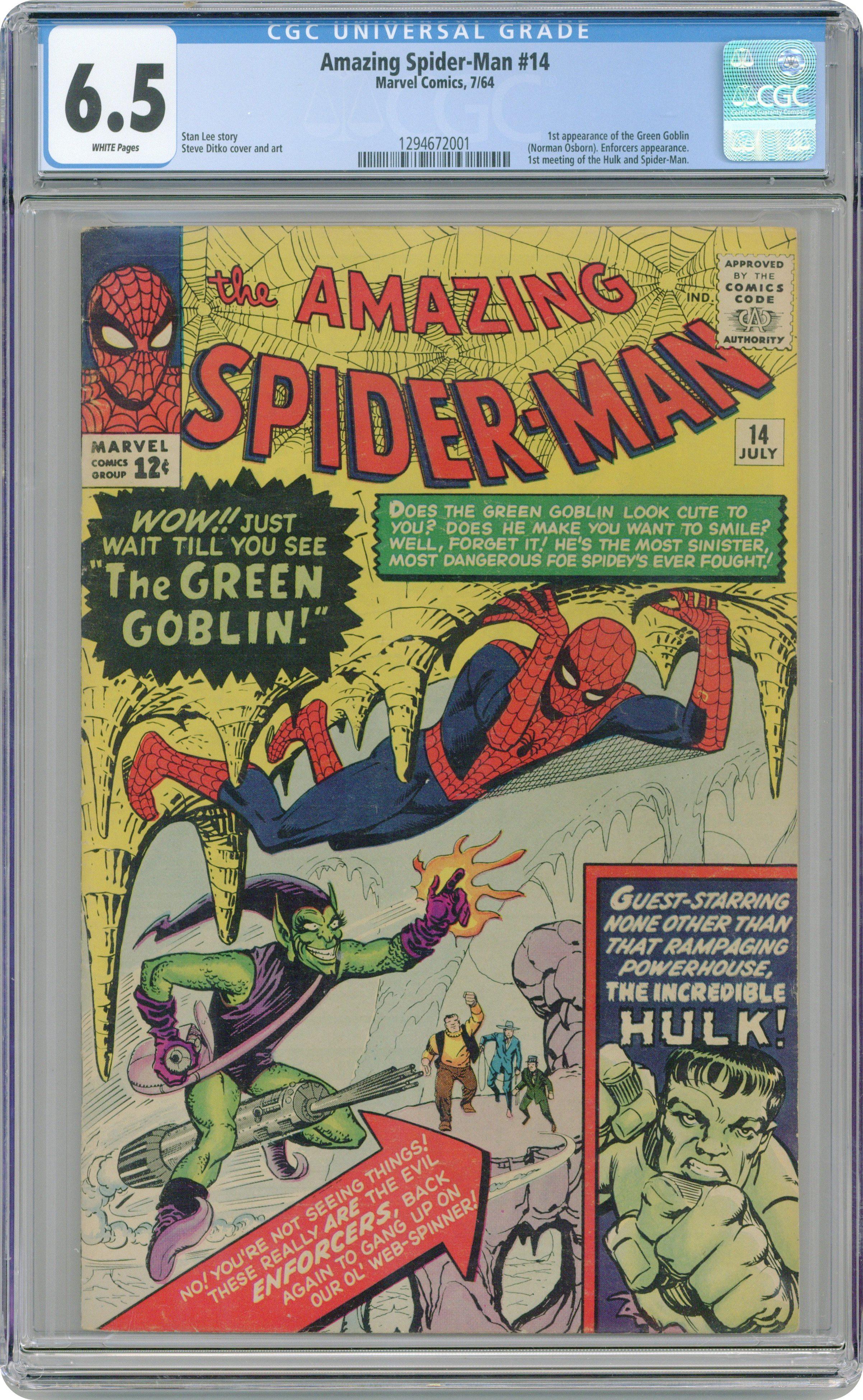 Amazing Spider-Man CGC Graded #6 #158 Pick Your Comic Book