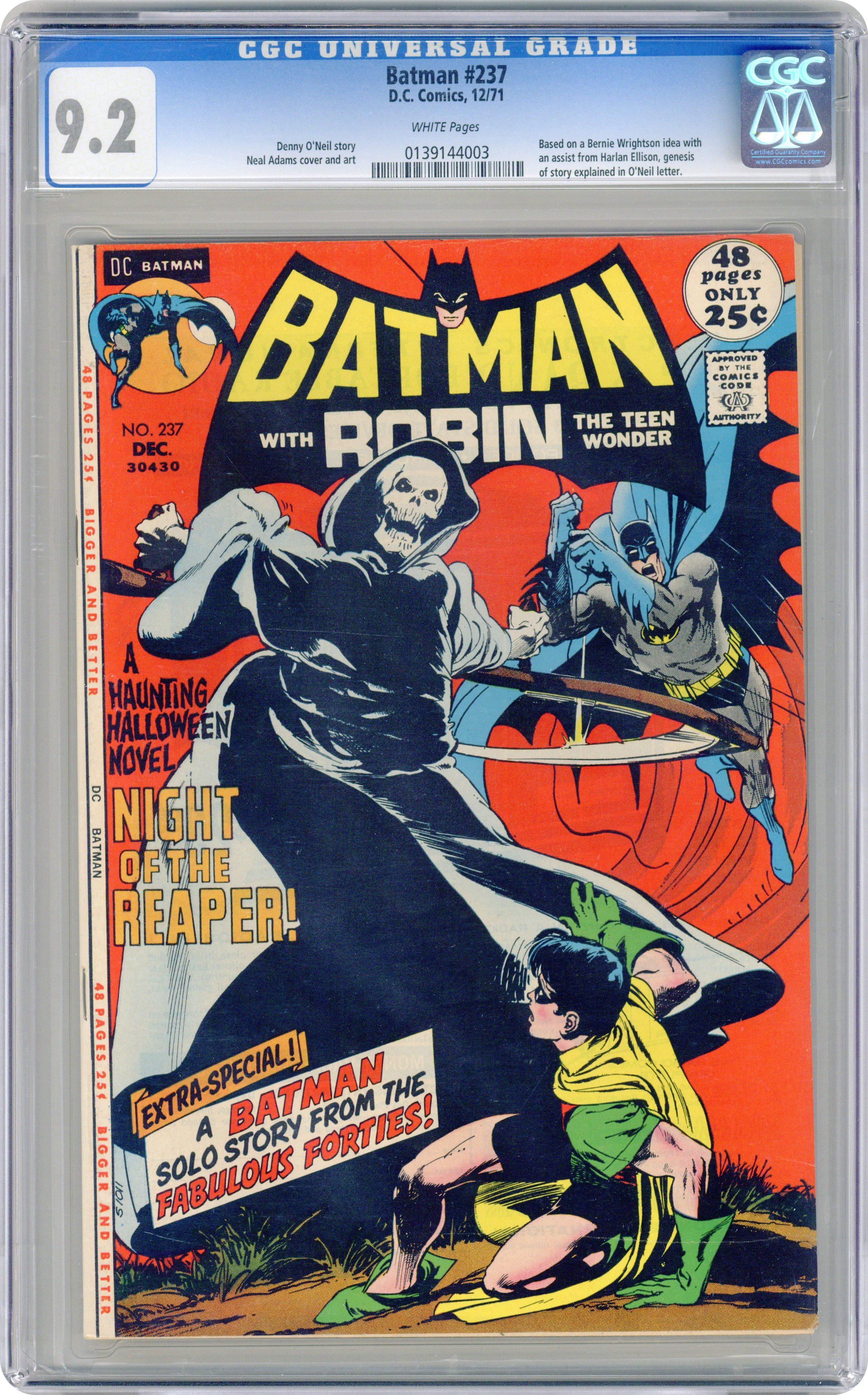 Comic books in 'Grim Reaper', graded by CGC