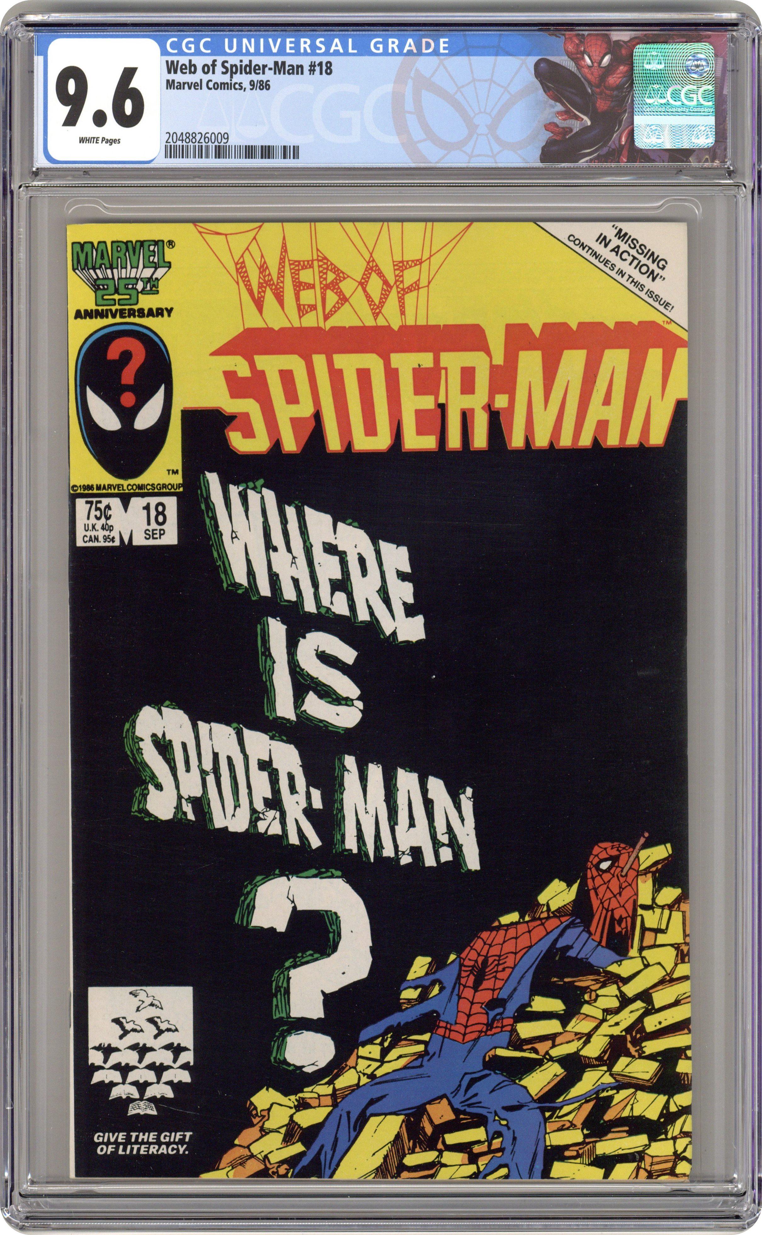 Peter Parker Spider-Man #18 2000 FN Stock Image