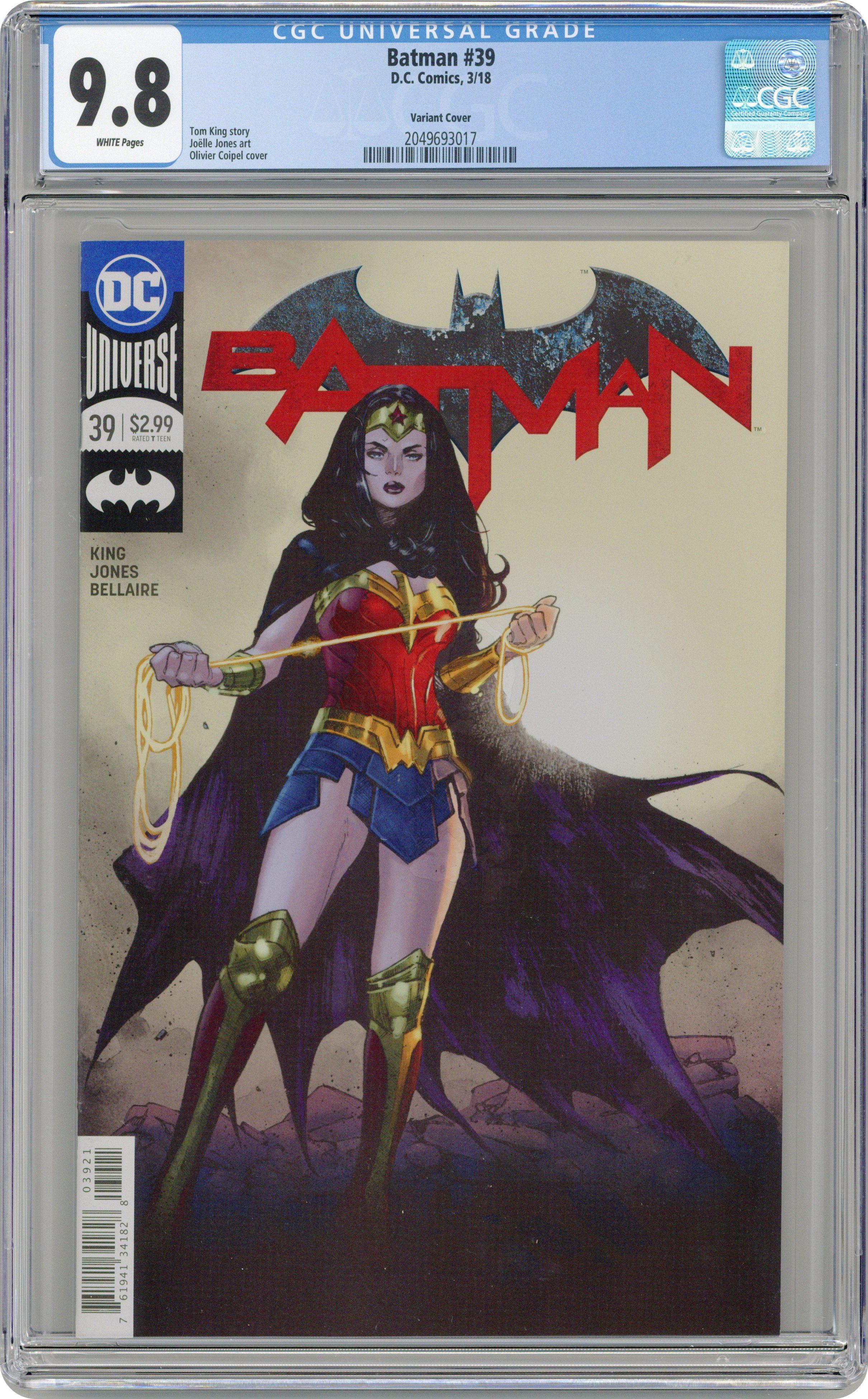 Batman #60 DC Universe 2016 Series Variant 9.6 Near Mint+