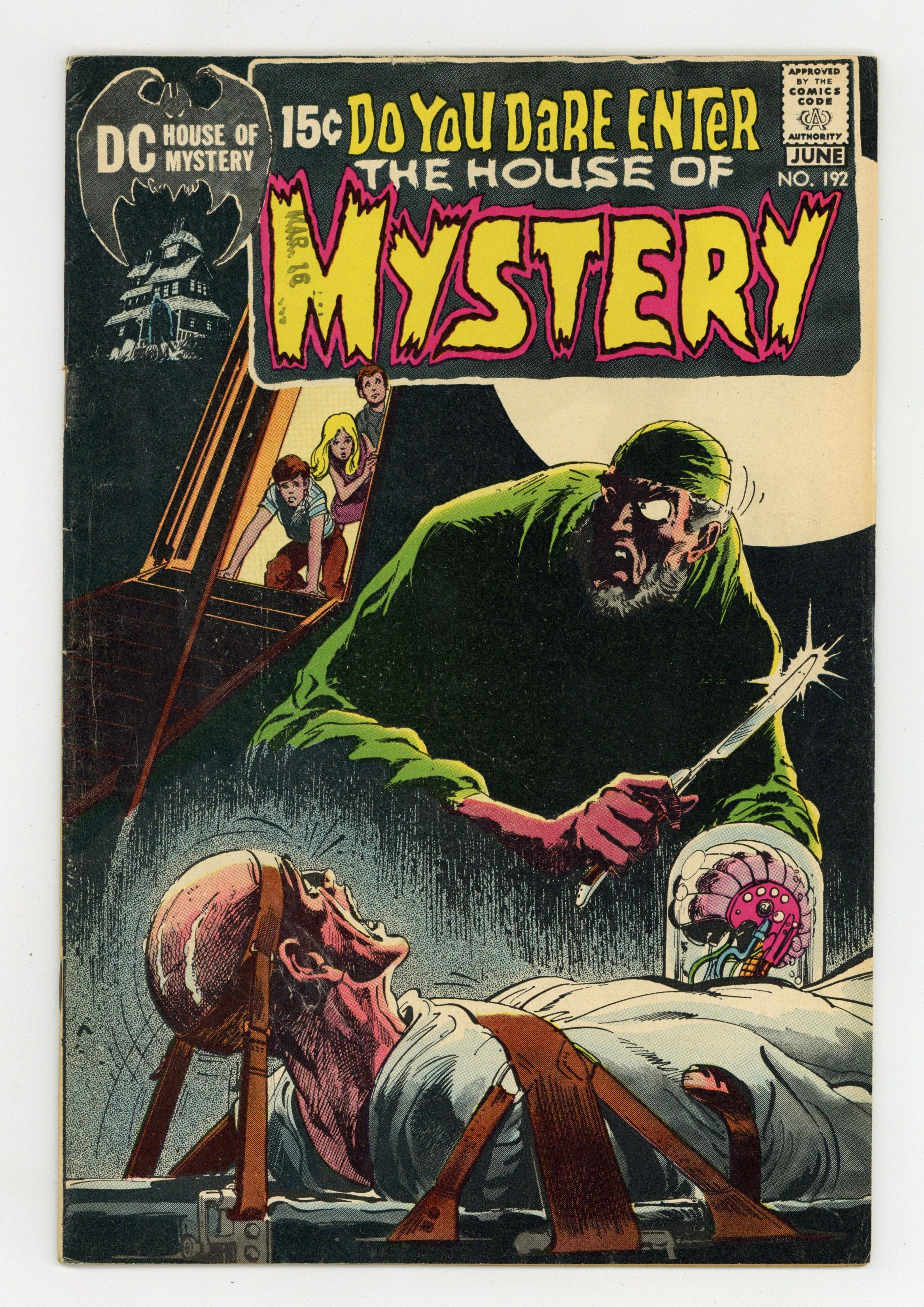 House Of Mystery (1951-1983 1st Series) 192 VG+ 4.5