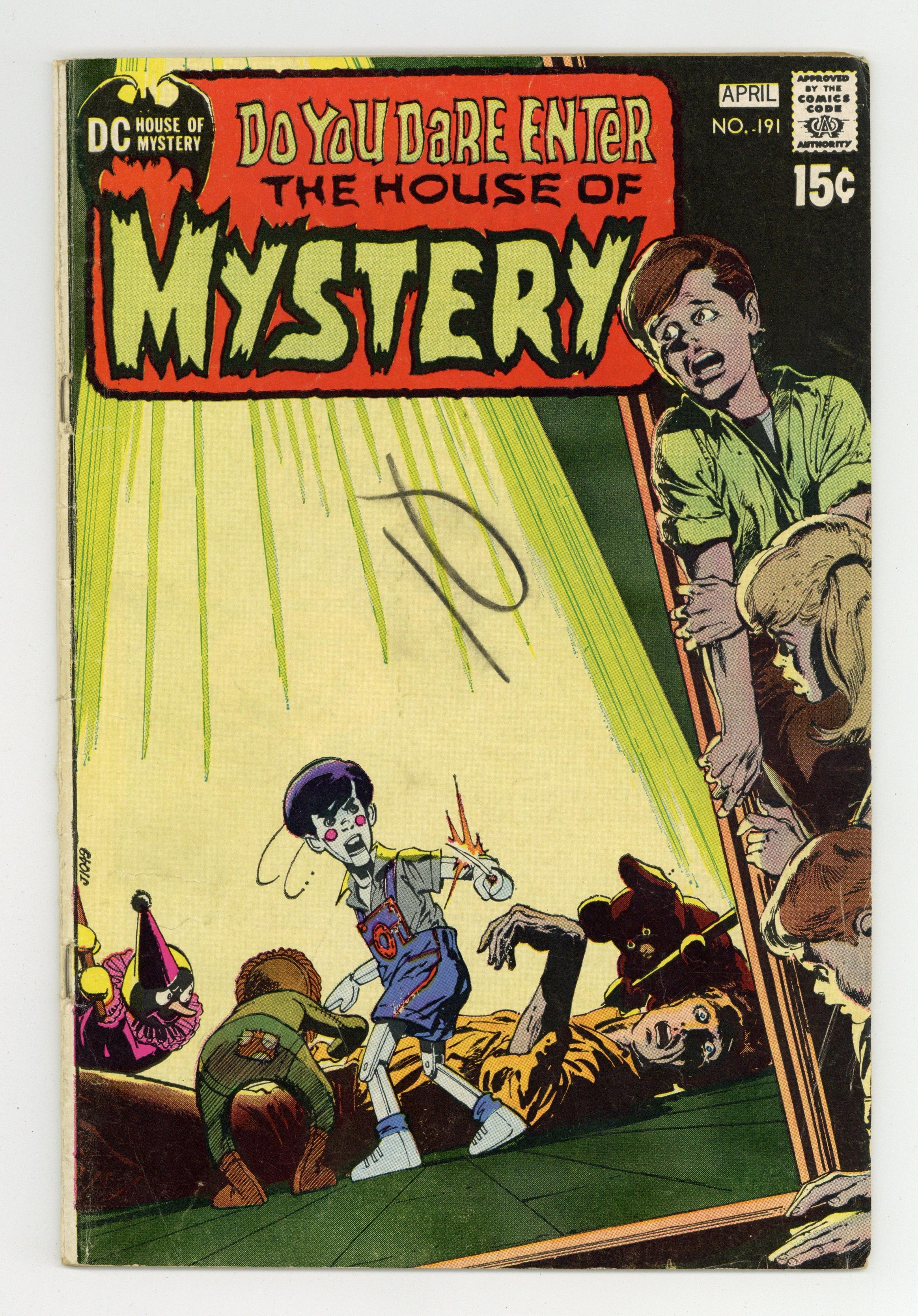 House Of Mystery (1951-1983 1st Series) 191 VG- 3.5
