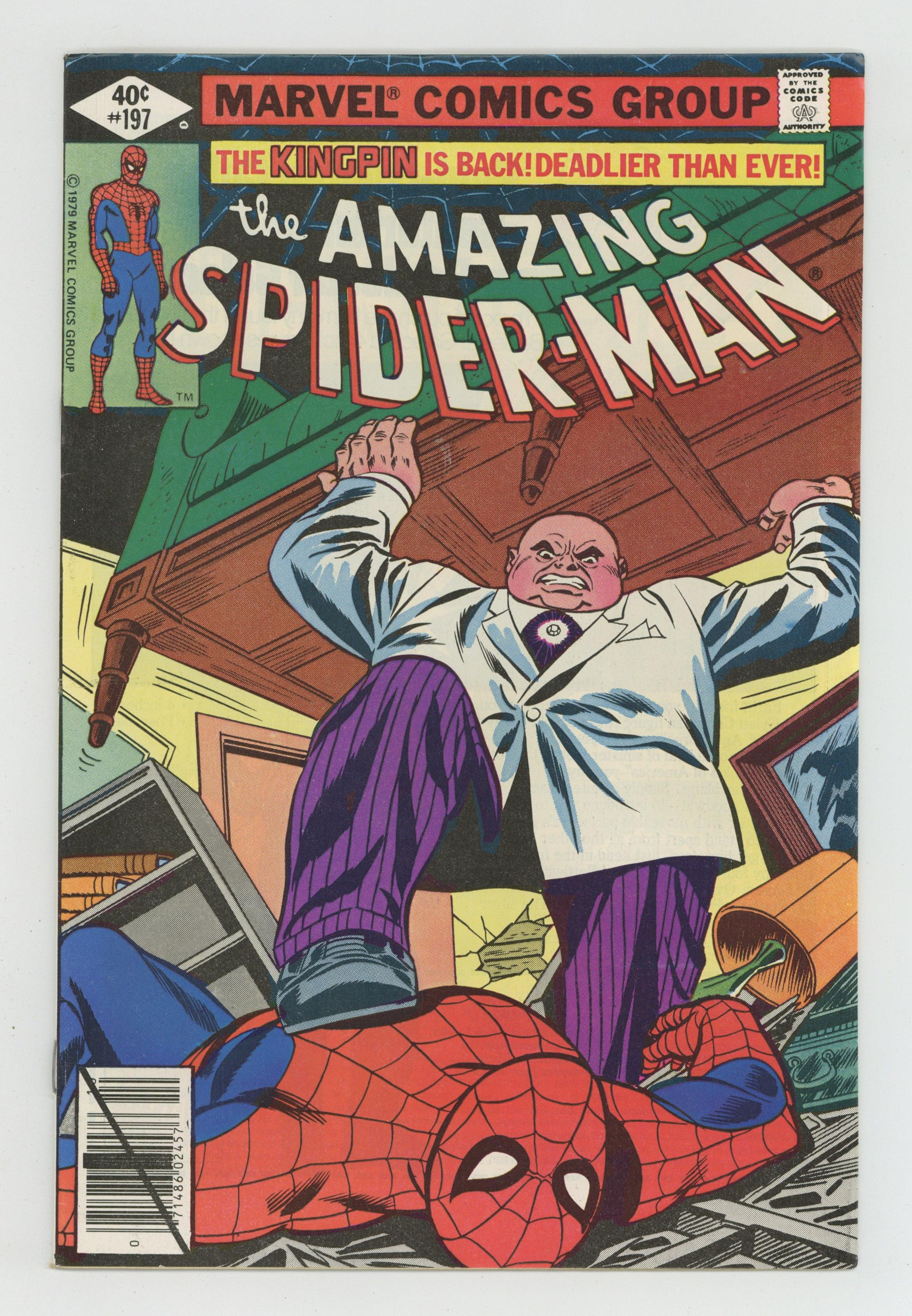 #197 1979 FN 6.0 Stock Image 1st Series Amazing Spider-Man