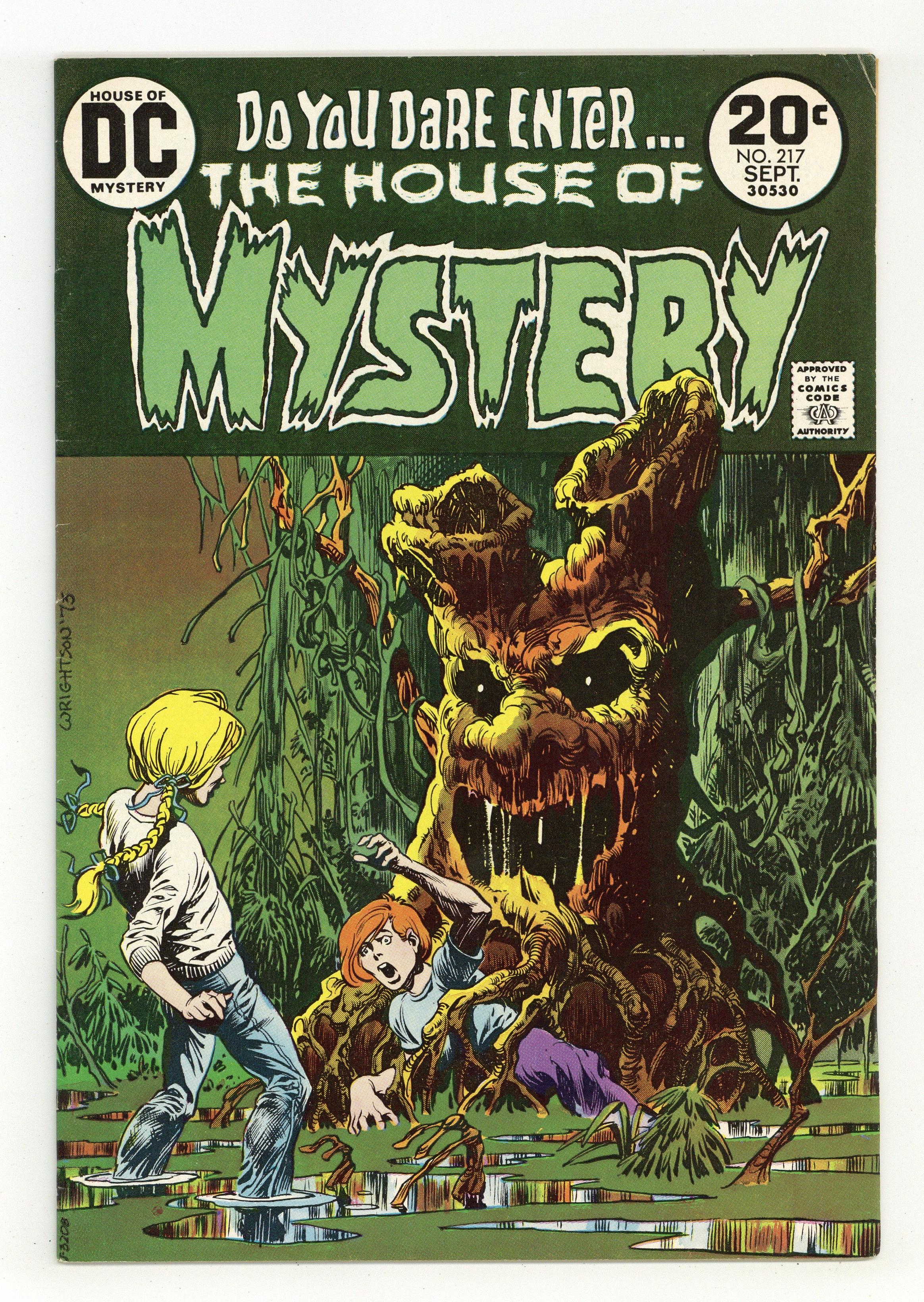 House Of Mystery (1951-1983 1st Series) 217 FN 6.0
