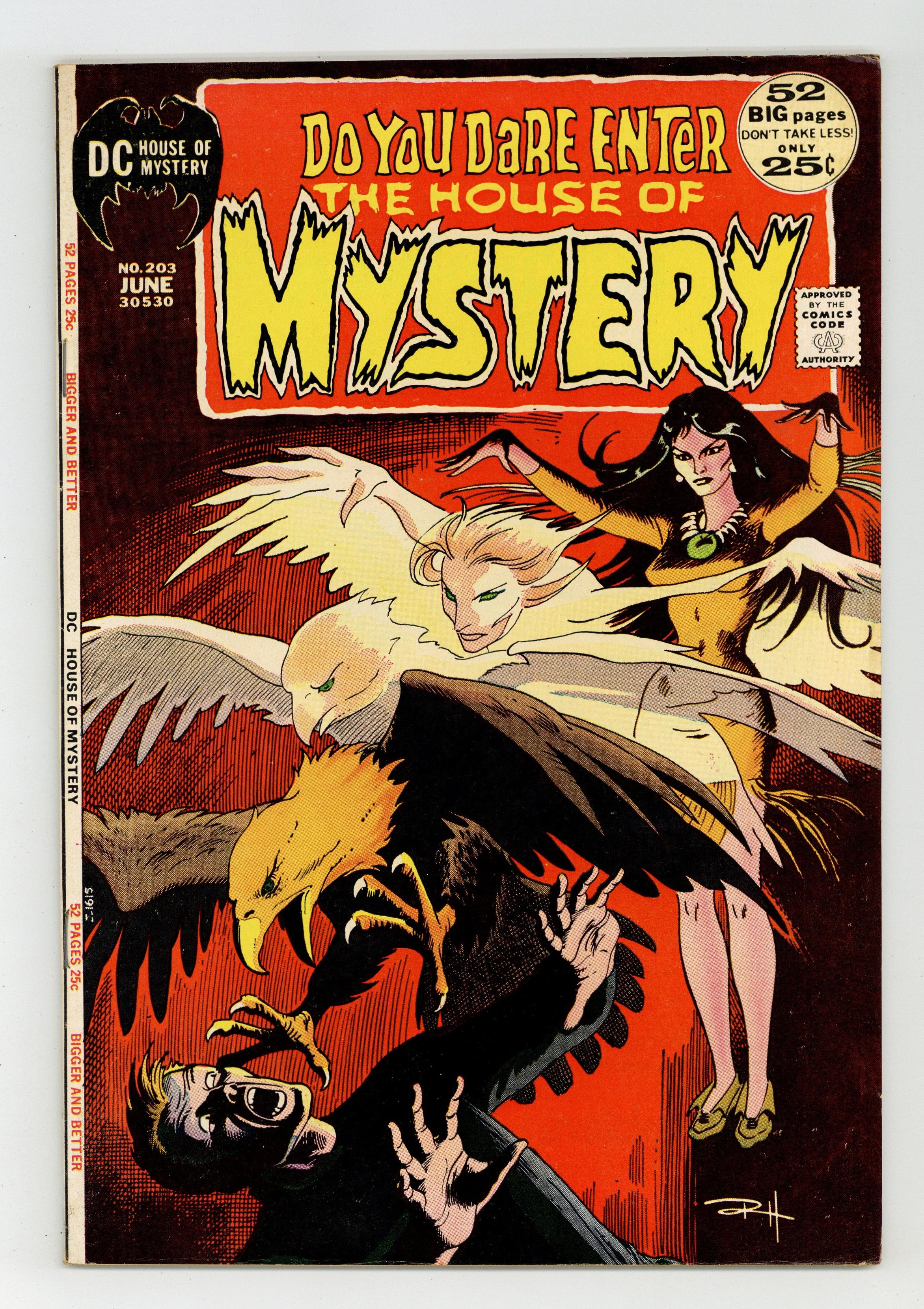 House Of Mystery (1951-1983 1st Series) 203 FN+ 6.5