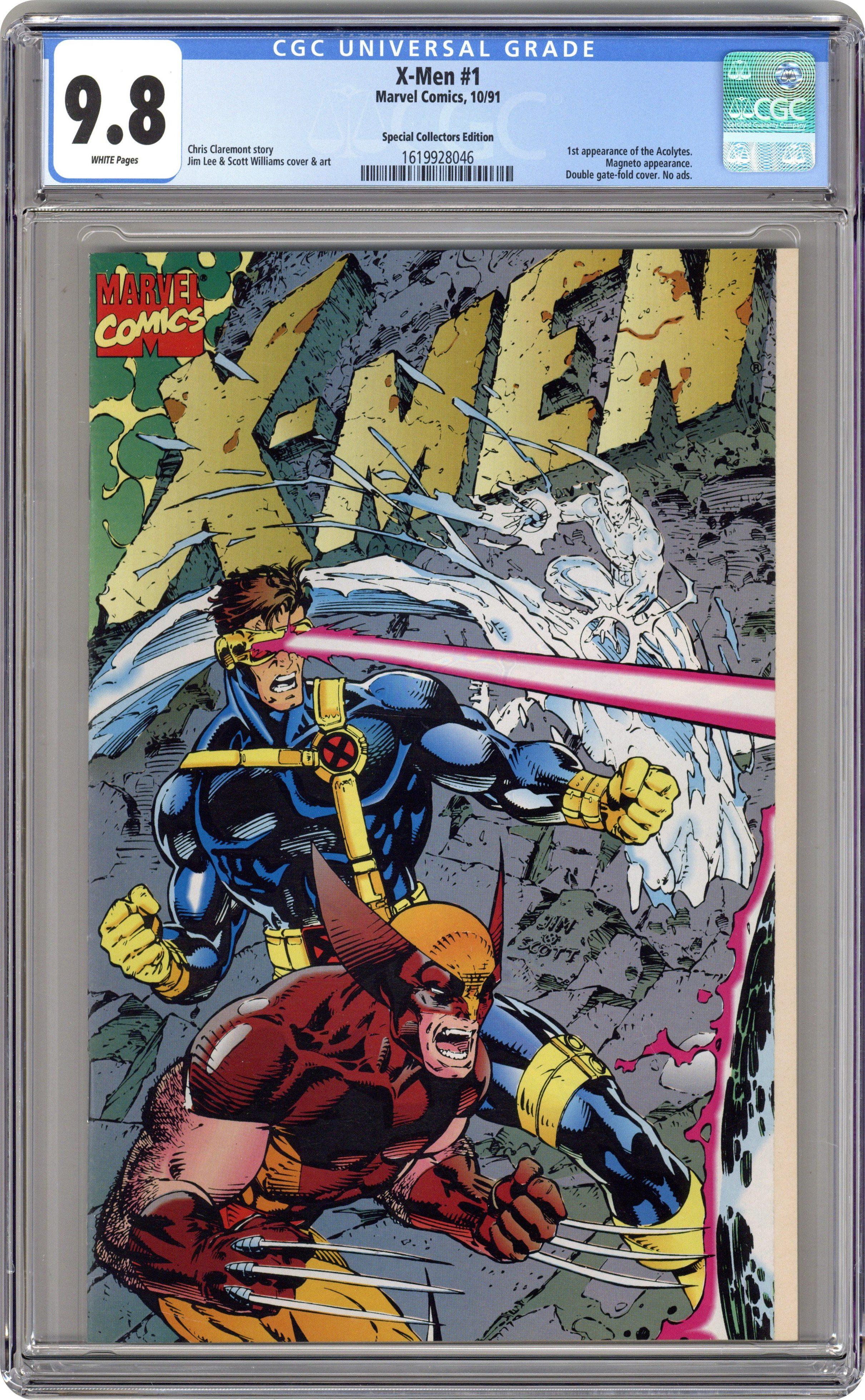 1991 Series #9 June 1992 Marvel NM 9.2 X-Men