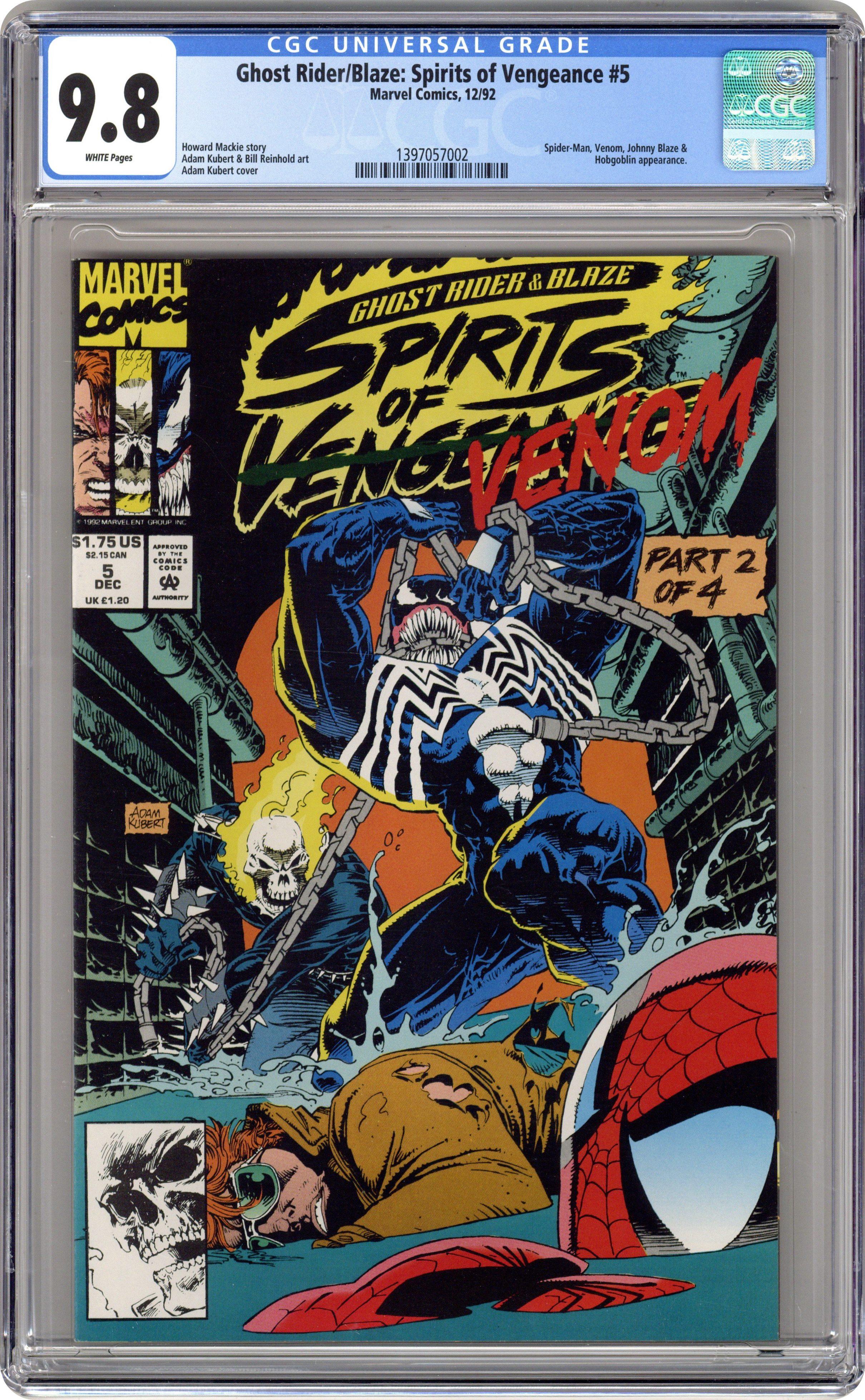 Batman Superman #1 CGC 9.8 Scorpion Comics Edition A Clayton Crain Cover Variant
