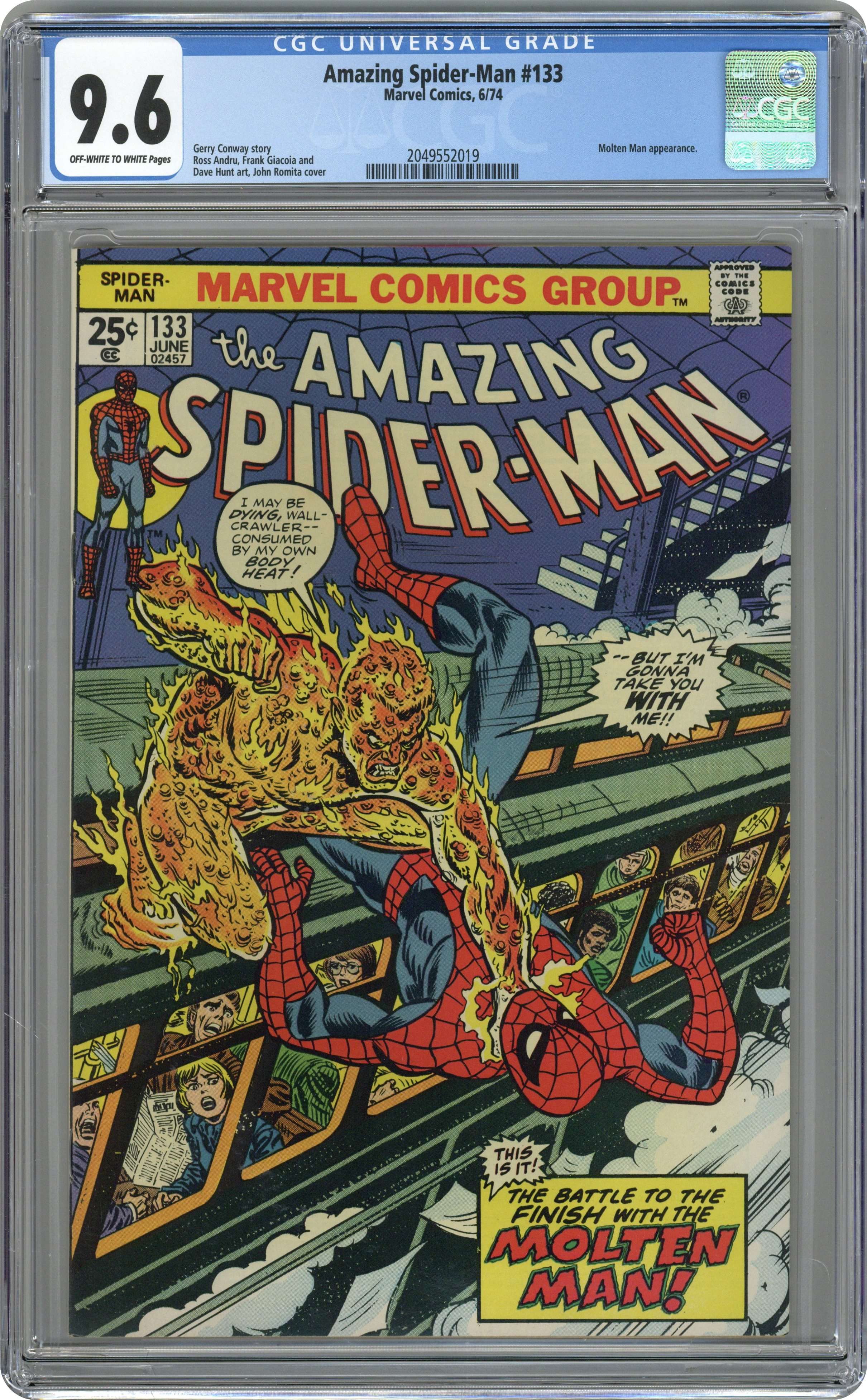 AMAZING SPIDERMAN 214 NM 9.2 SUB MARINER FRIGHTFUL FOUR NEWSSTAND OR DIRECT