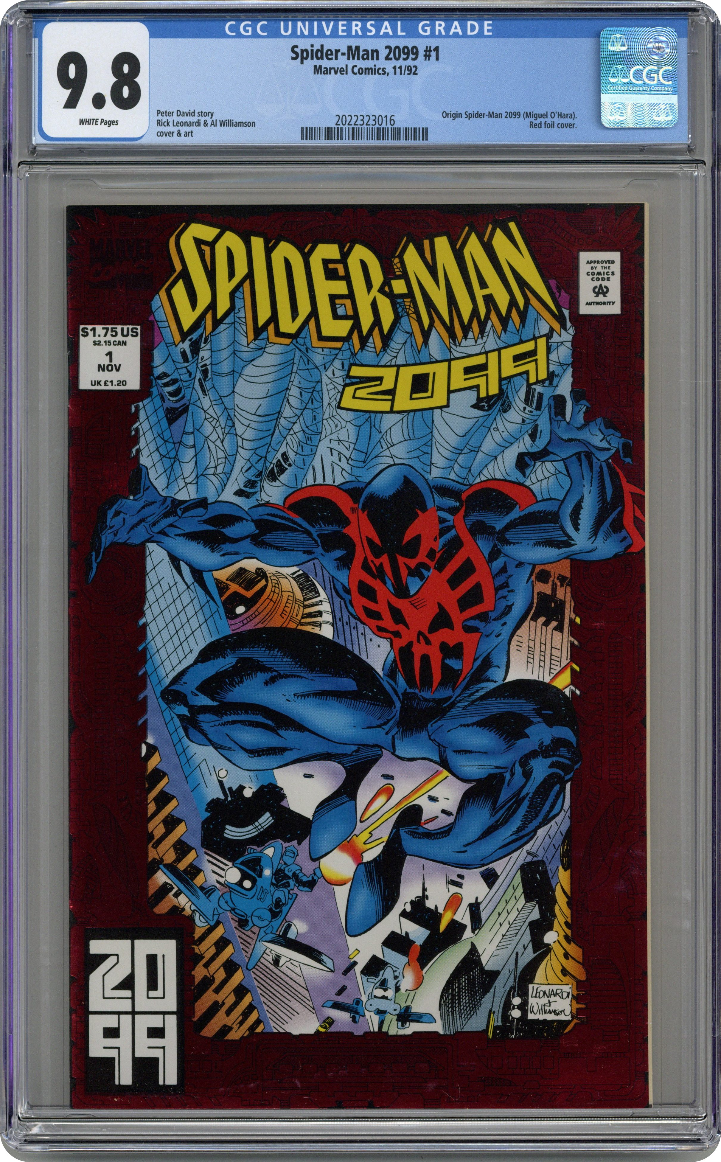 SPIDER-MAN #1 BAGLEY CLASSIC 1:25 INCENTIVE VARIANT COVER