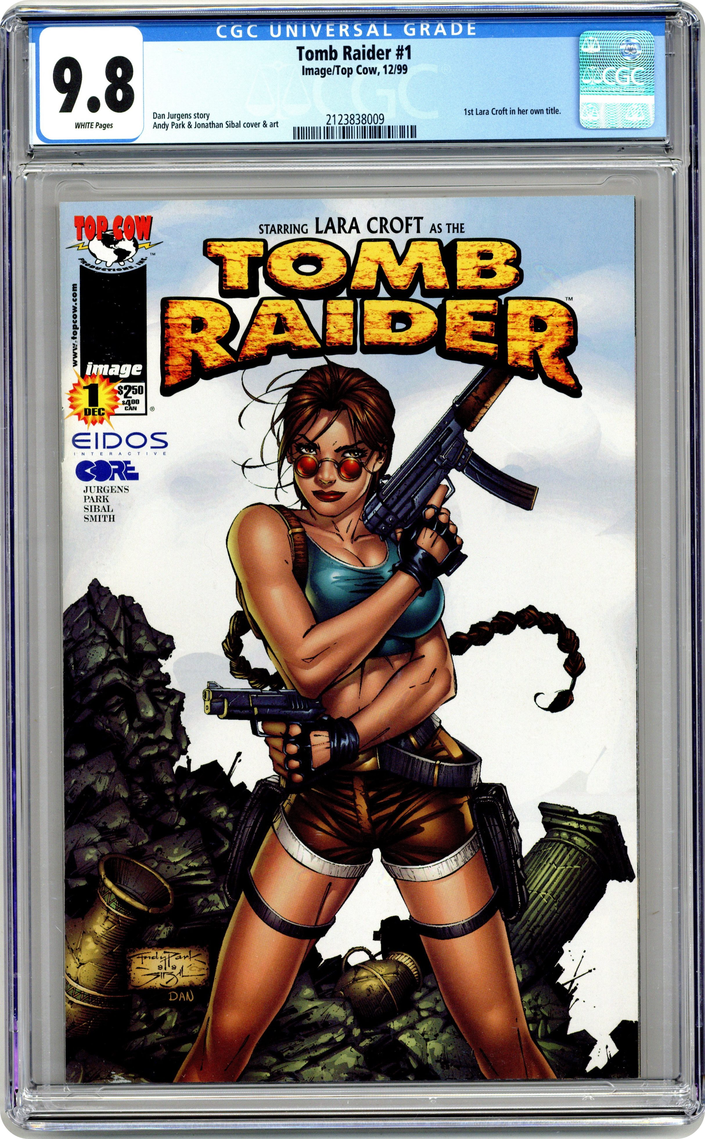 Auctions Tomb Raider Comic Books Issue 1