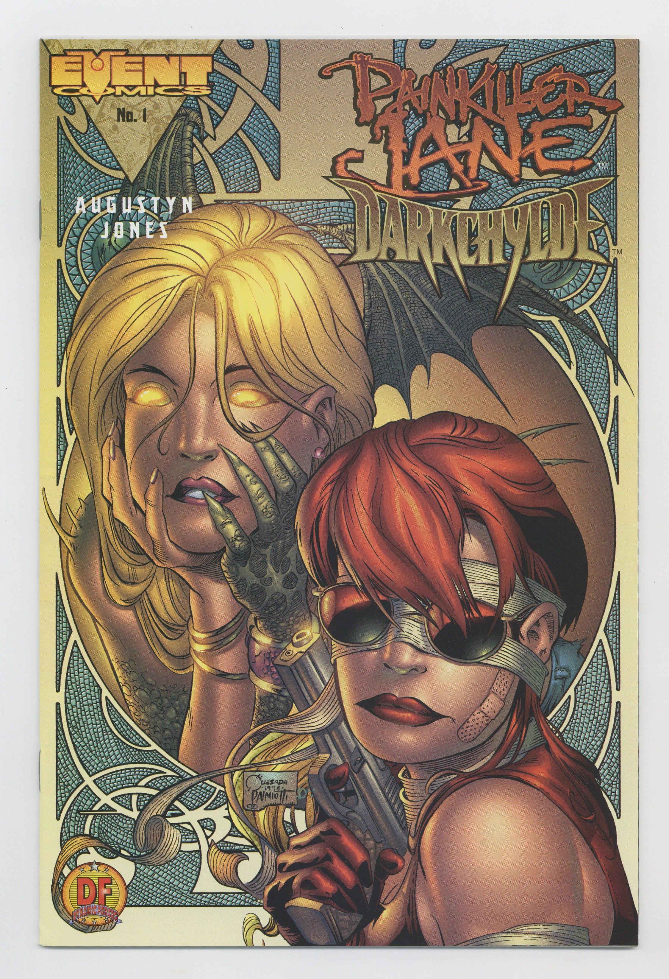Darkchylde Sketchbook #1 Sealed COA DF Comics Oct 1998