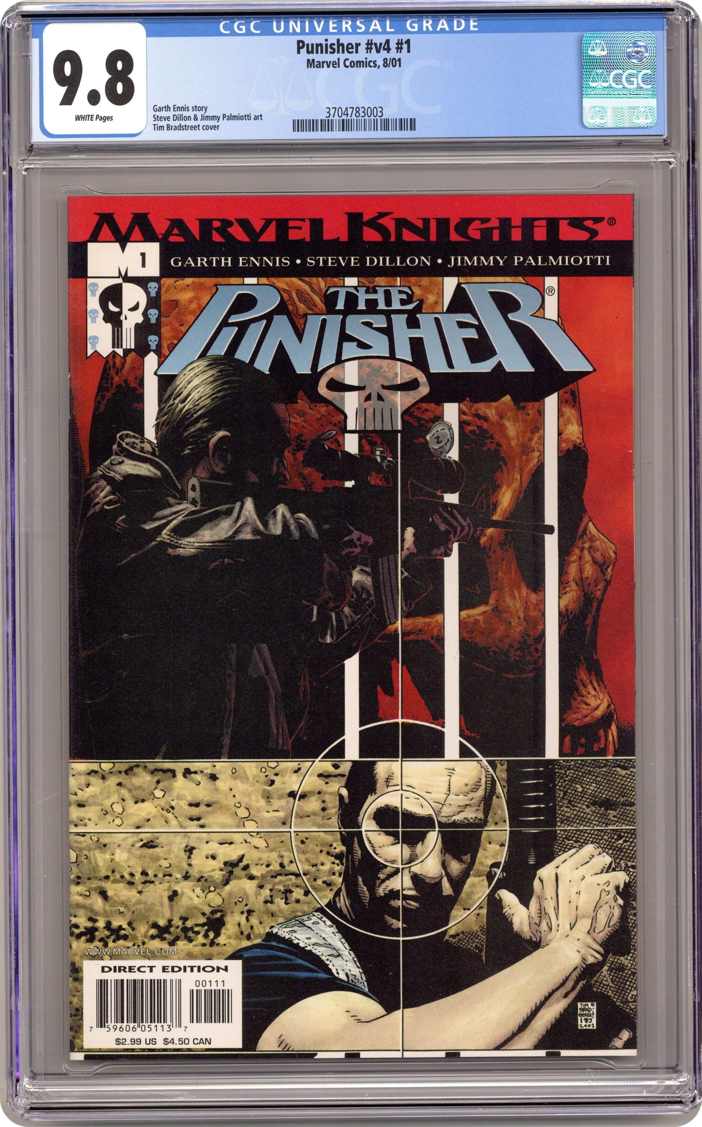 Punisher #104 Jae Lee CoverCountdown 1987 2nd Series