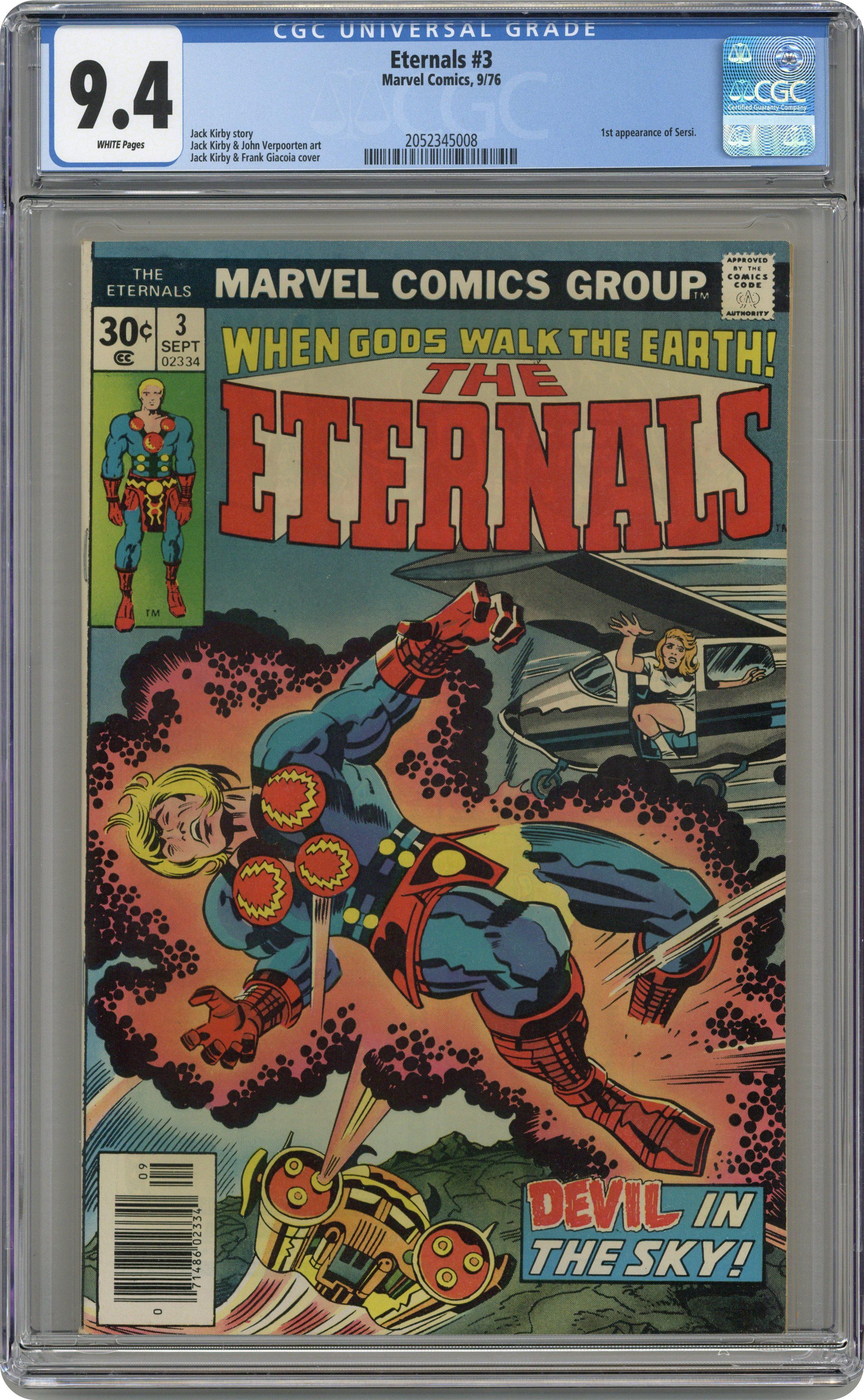 Eternals Annual 1 1st Series Marvel 1977 FN VF Jack Kirby