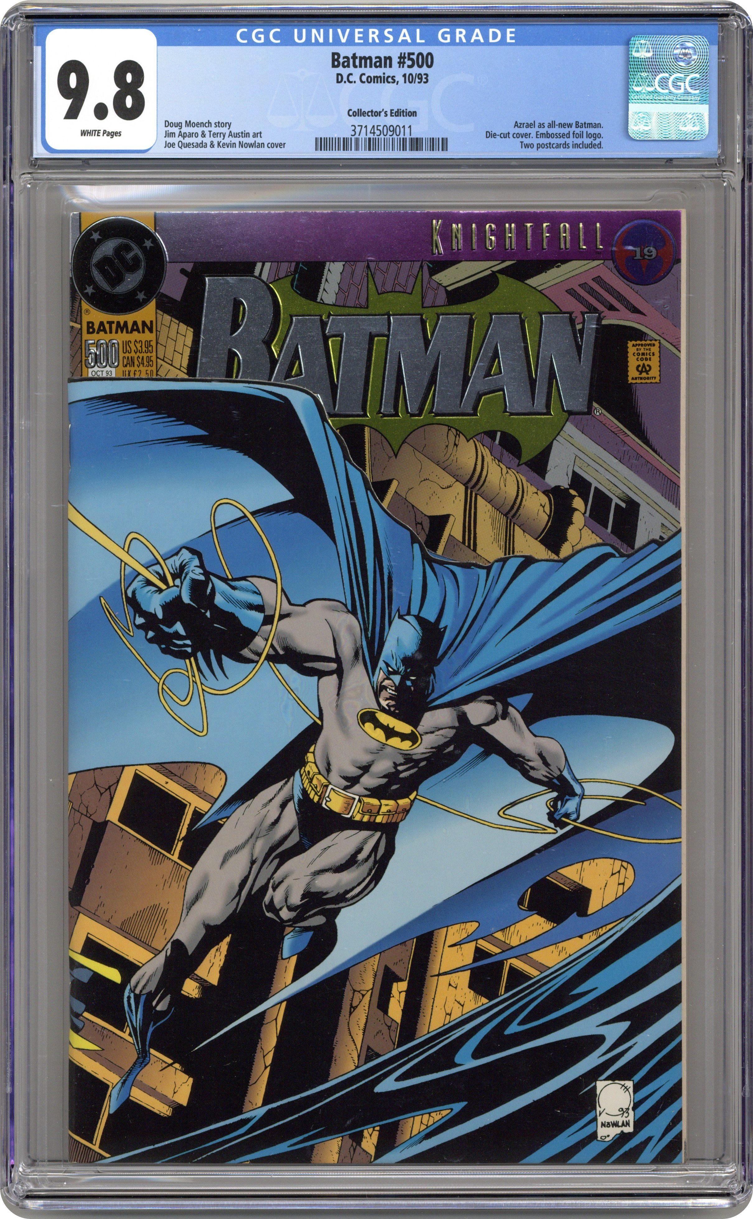 Batman 15 15D CGC 15.15