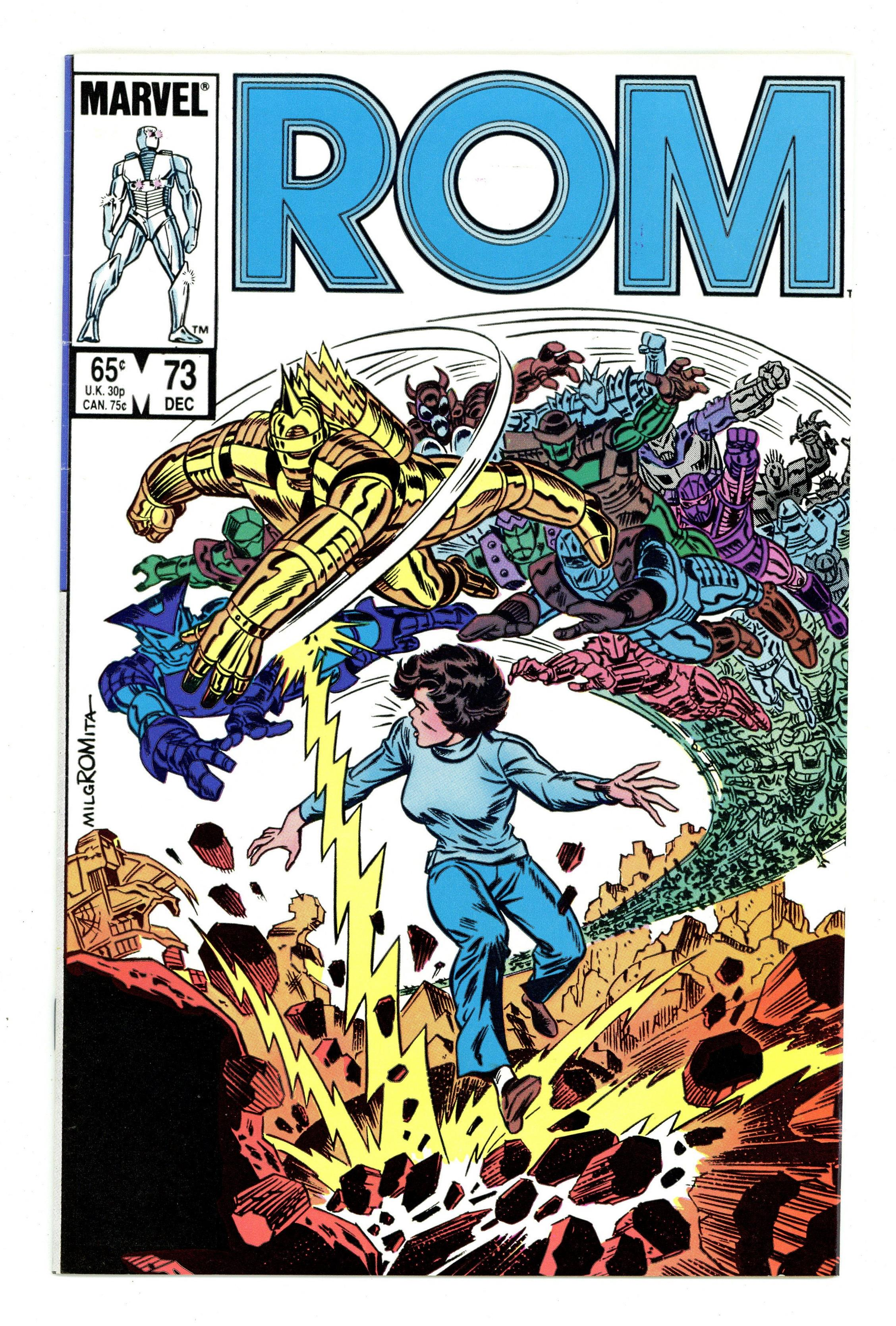 Rom Annual #4 FN 6.0 1985 Stock Image