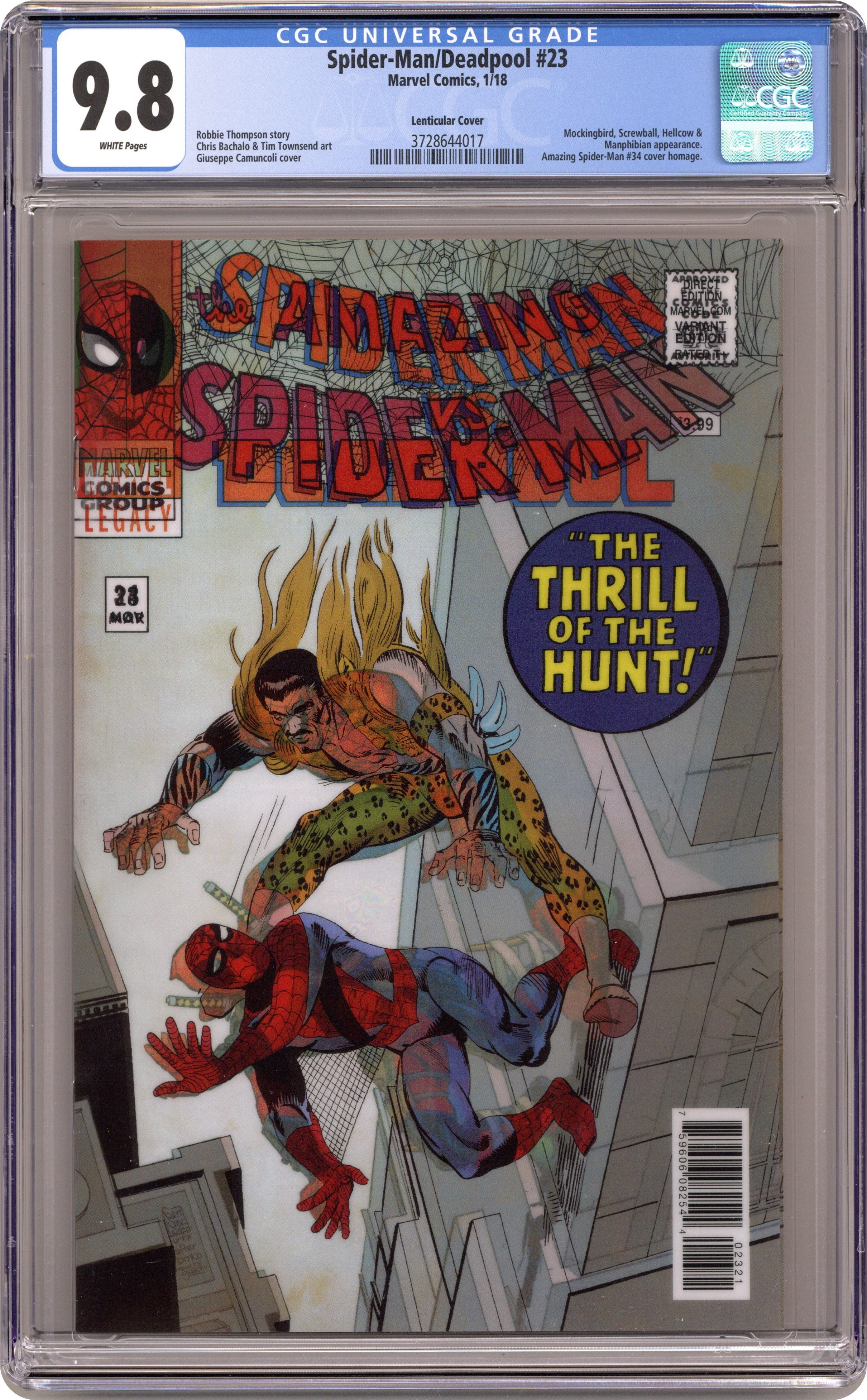 Spider-Man Deadpool #2 1:25 RETAILER INCENTIVE