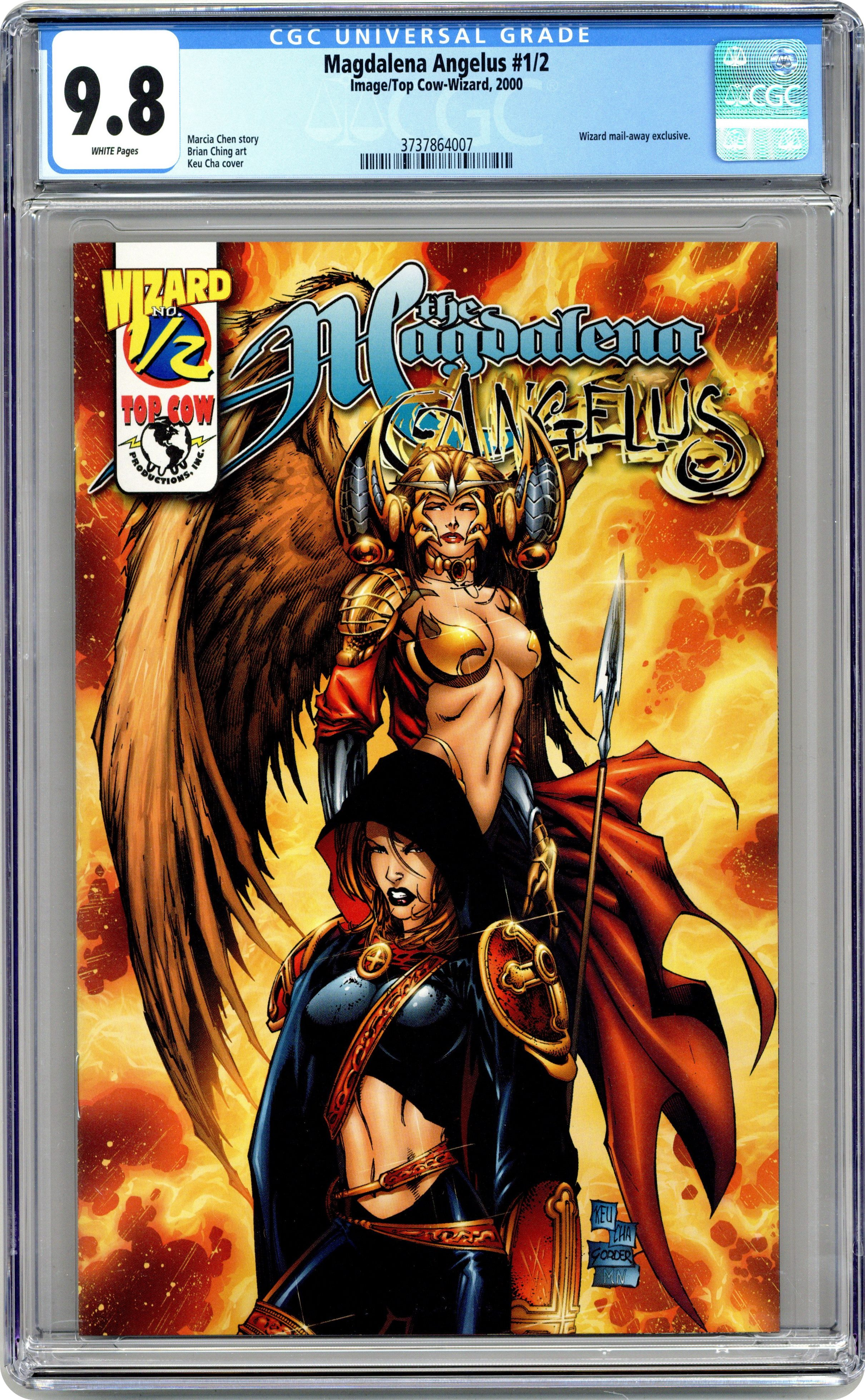 Magdalena Angelus Wizard 1//2 2001