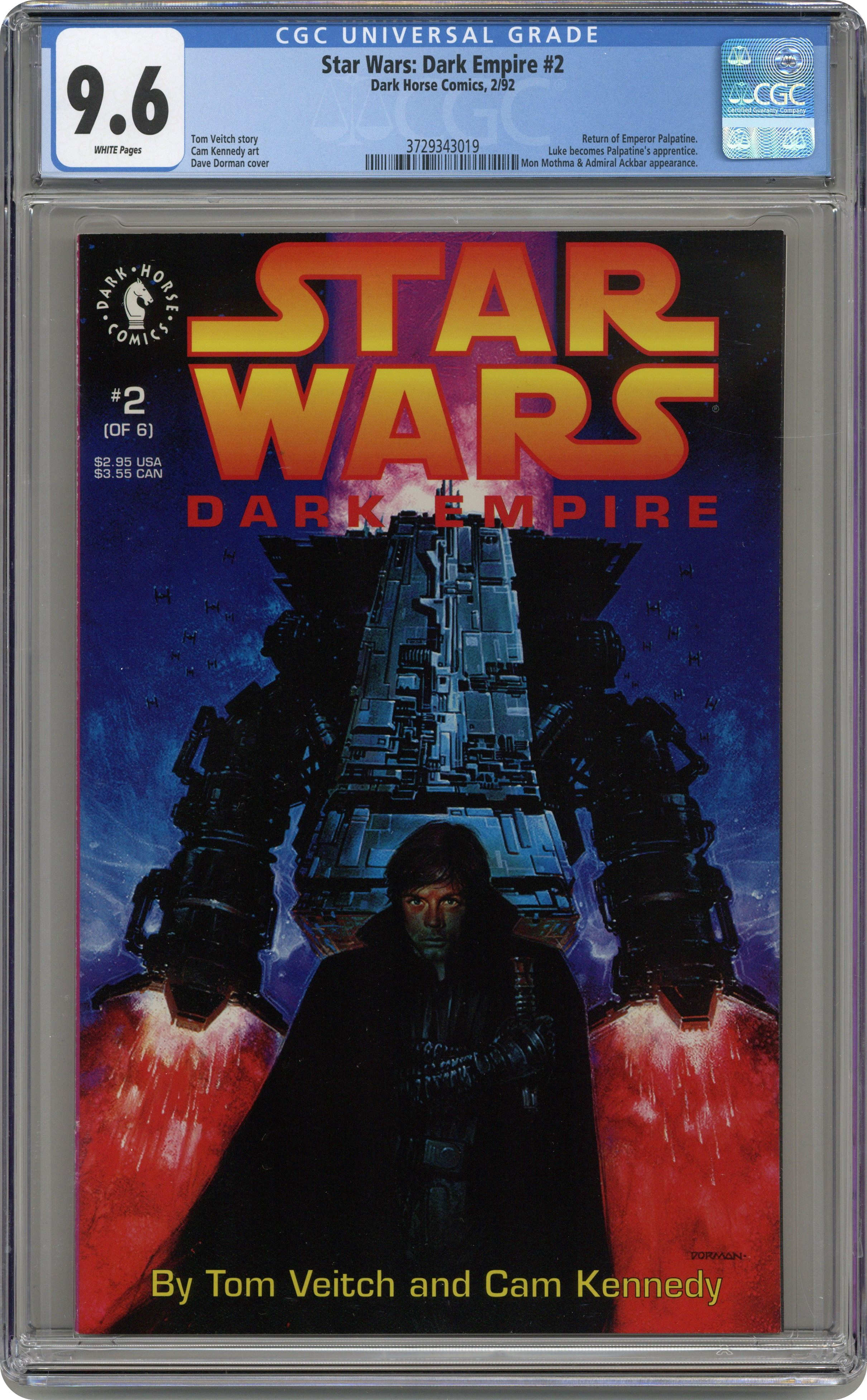 STAR WARS JEDI KNIGHTS MASTERS OF THE FORCE GOLD FOIL 55