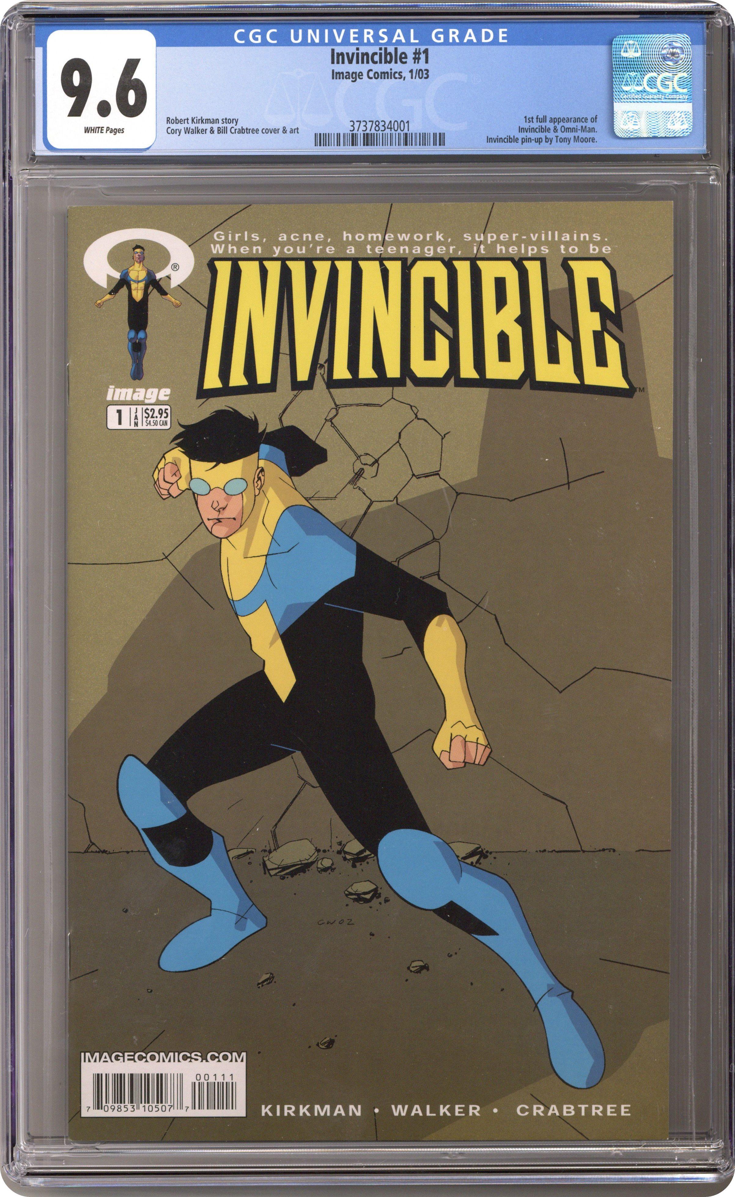 Invincible 2003 series # 76 very fine comic book