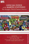 Official Index Marvel Universe Avengers Thor Capt. America 5